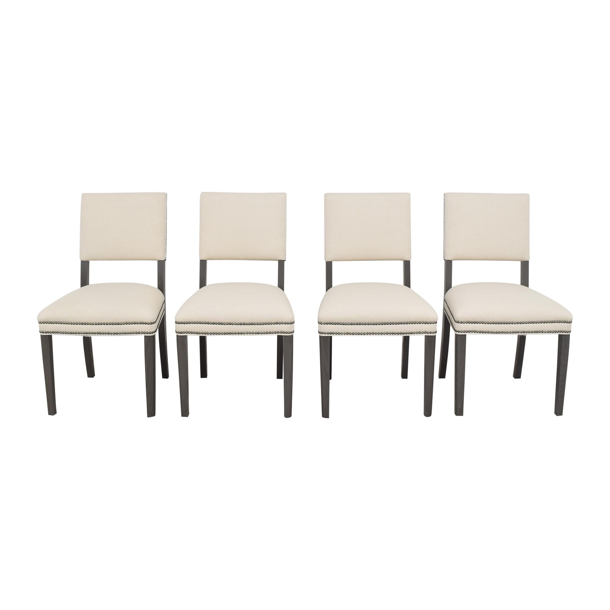 Vanguard Furniture Vanguard Furniture Newton Stocked Dining Chairs used