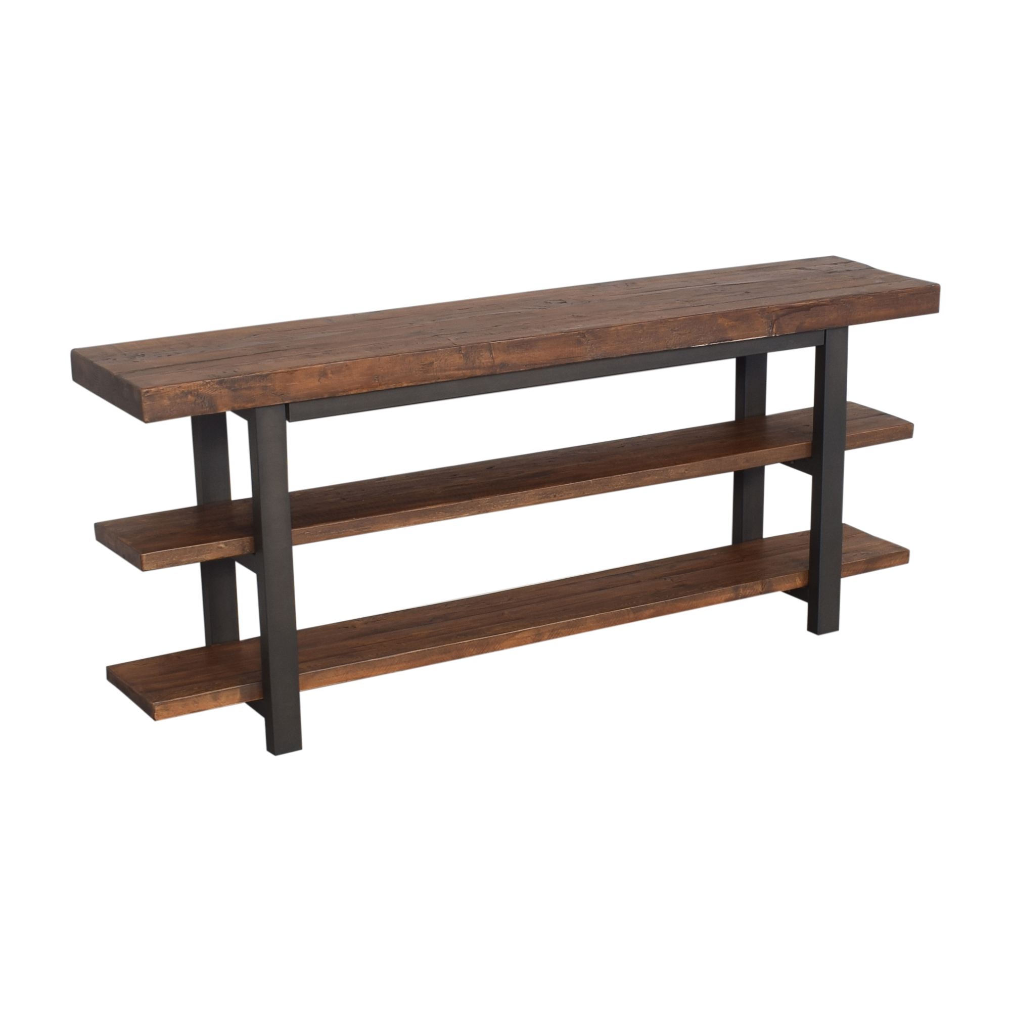 Pottery Barn Griffin Reclaimed Media Console / Accent Tables