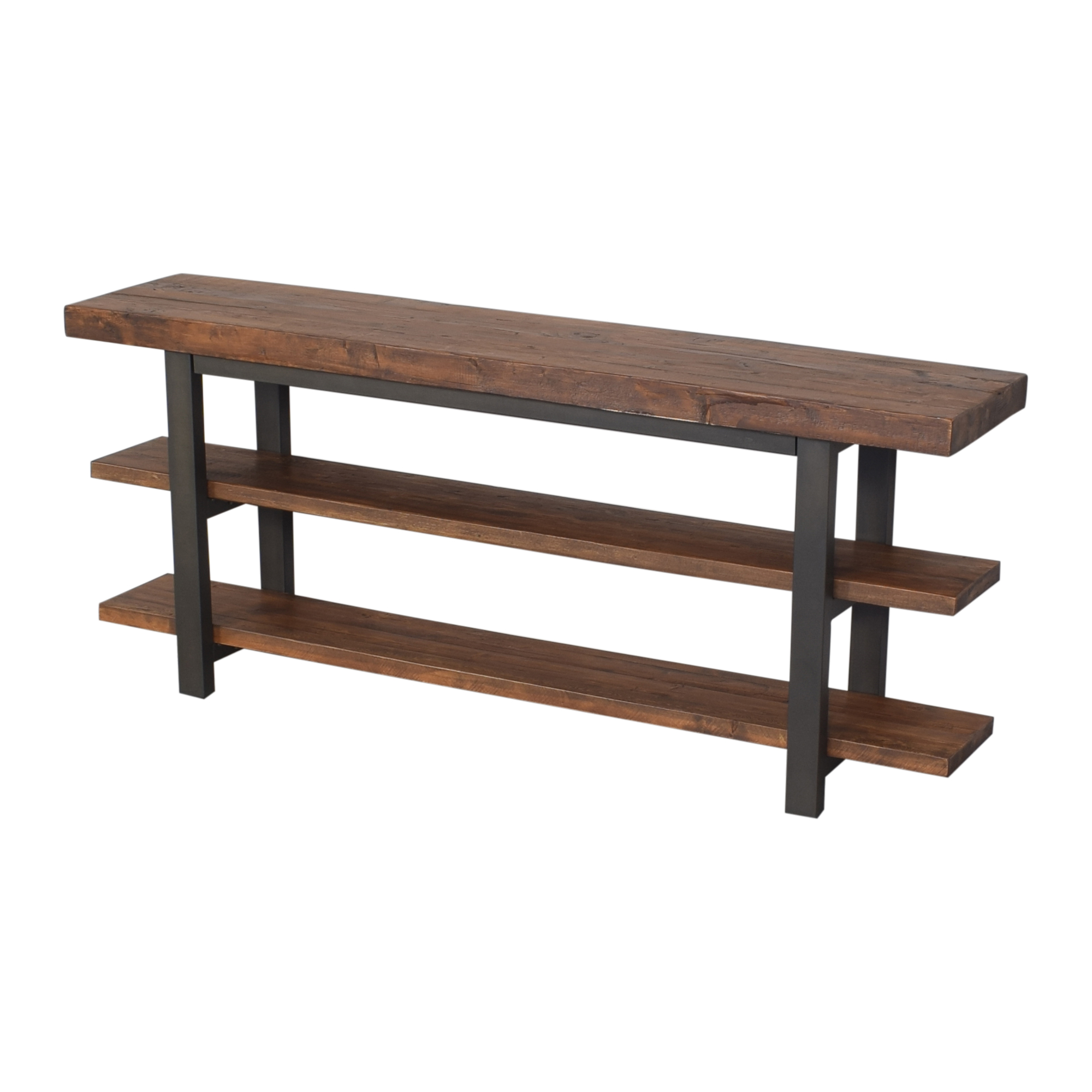 shop Pottery Barn Griffin Reclaimed Media Console Pottery Barn Tables