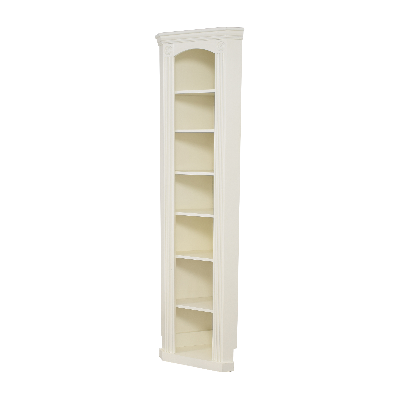 Custom Narrow Corner Bookcase price