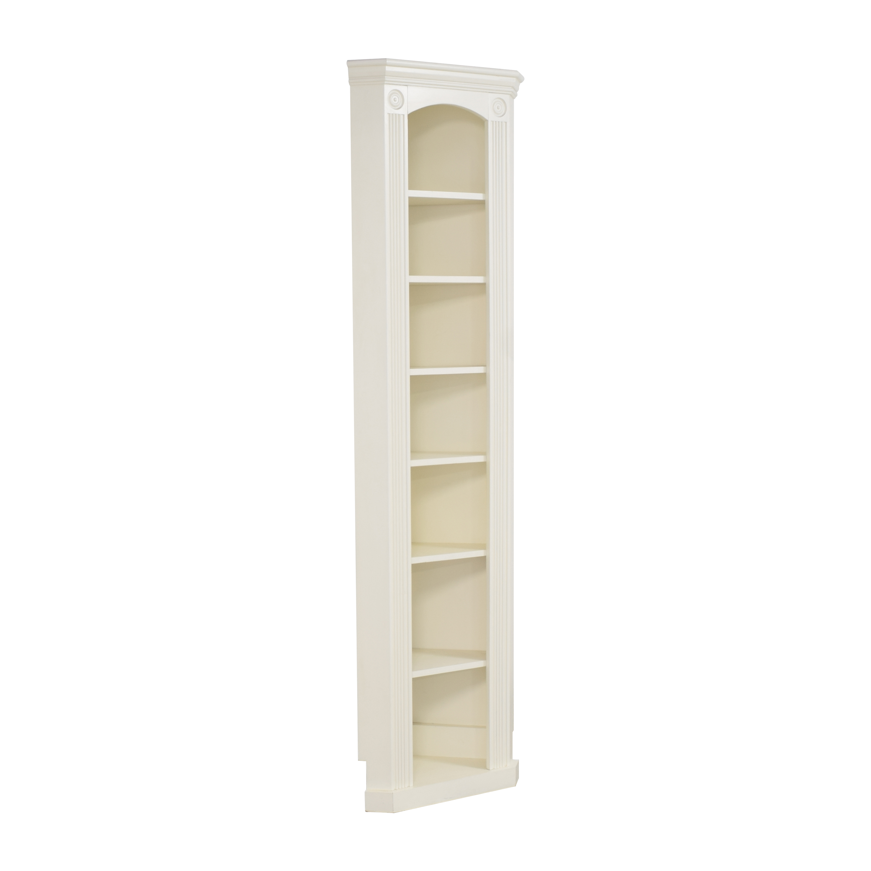 Custom Narrow Corner Bookcase second hand