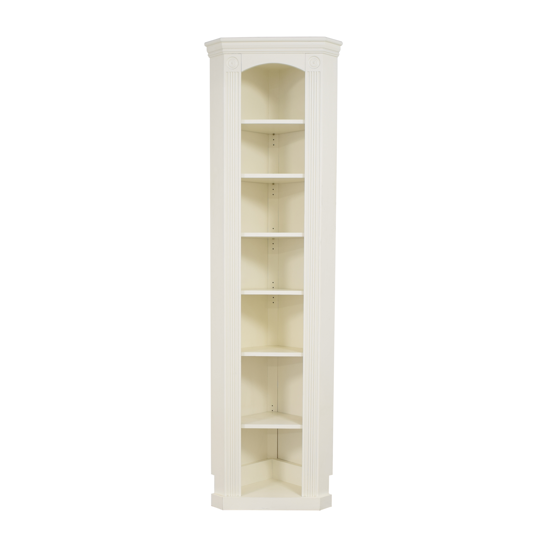 buy Custom Narrow Corner Bookcase  Storage