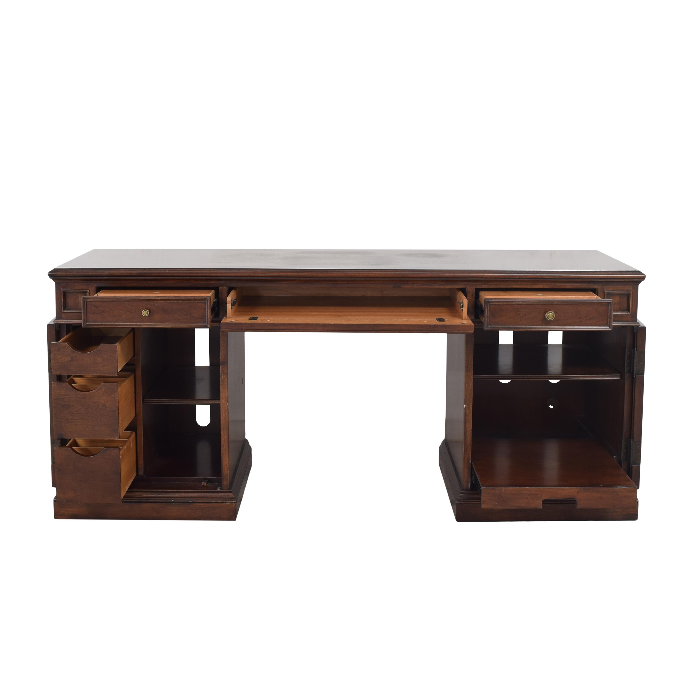 Ethan Allen Ethan Allen Executive Pedestal Desk price
