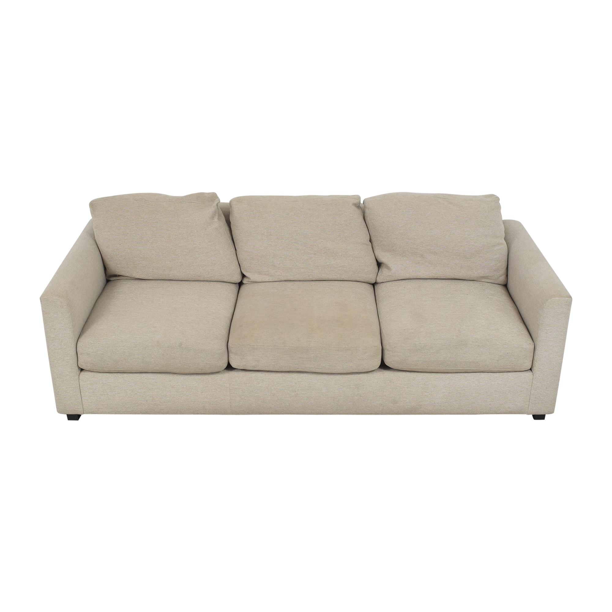 Room & Board Room & Board Three Cushion Sofa