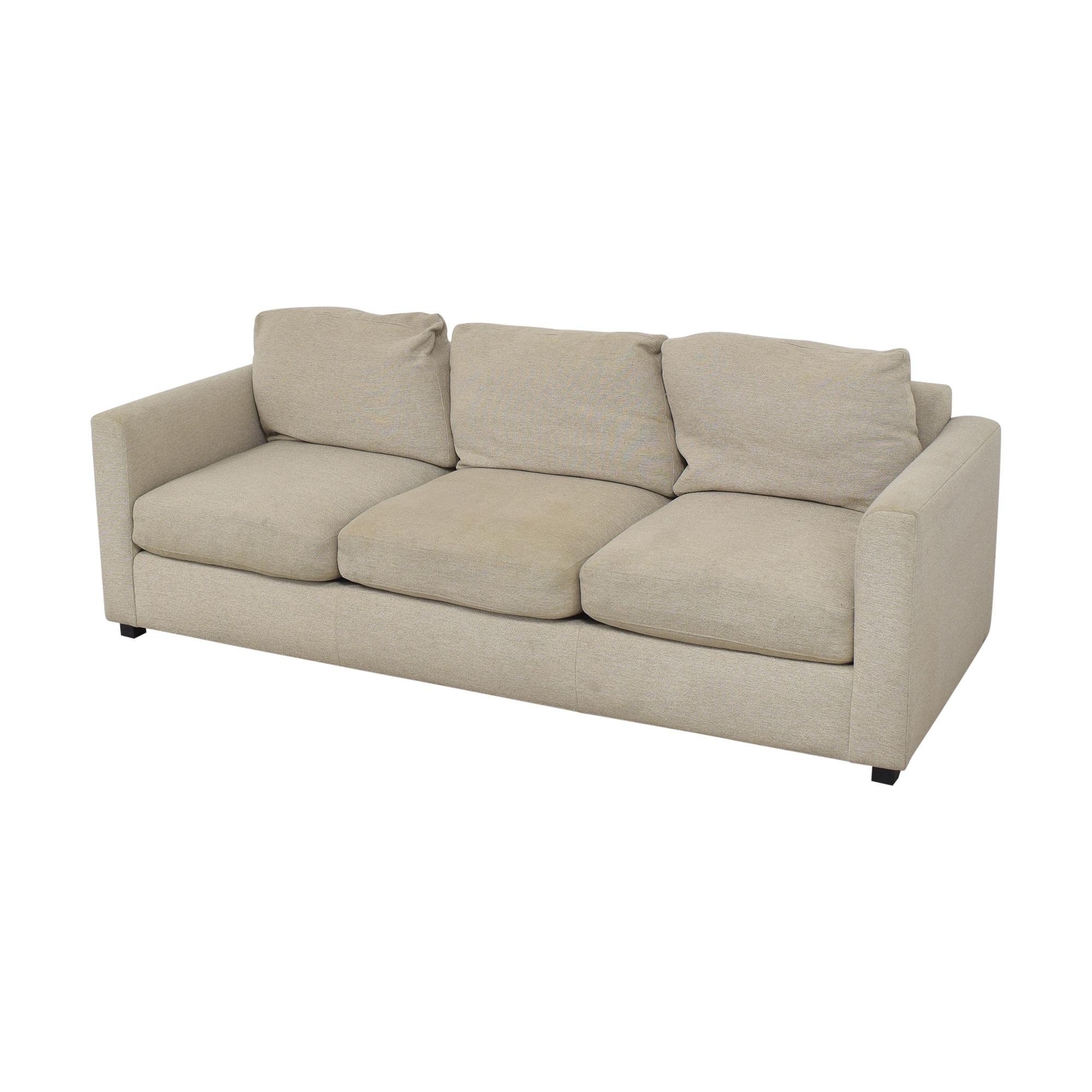 buy Room & Board Three Cushion Sofa Room & Board