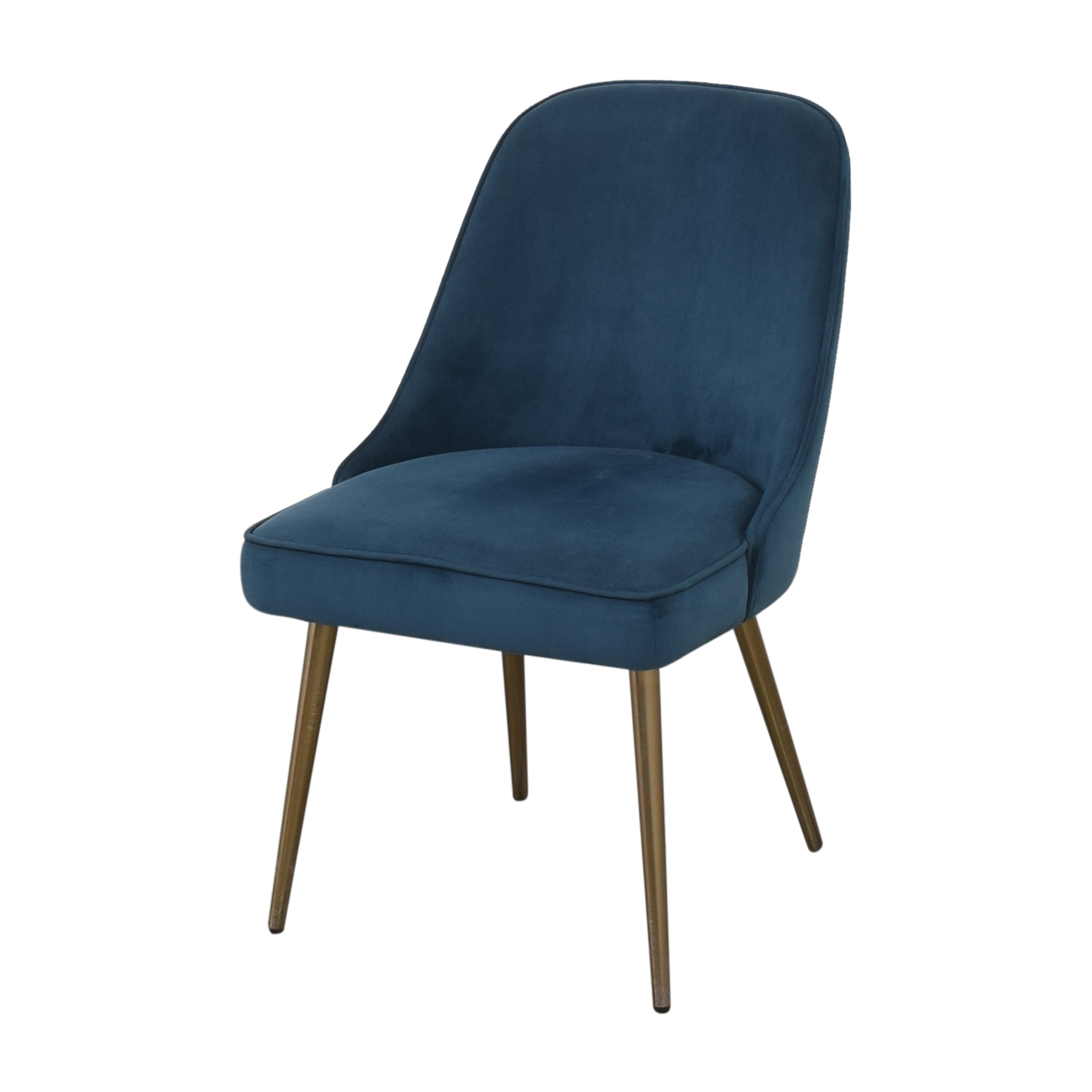 buy West Elm Mid Century Upholstered Dining Chairs West Elm Dining Chairs