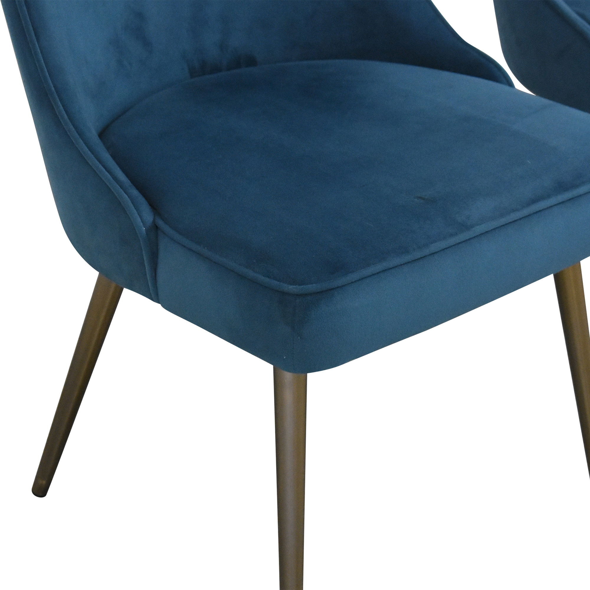 West Elm West Elm Mid Century Upholstered Dining Chairs Dining Chairs