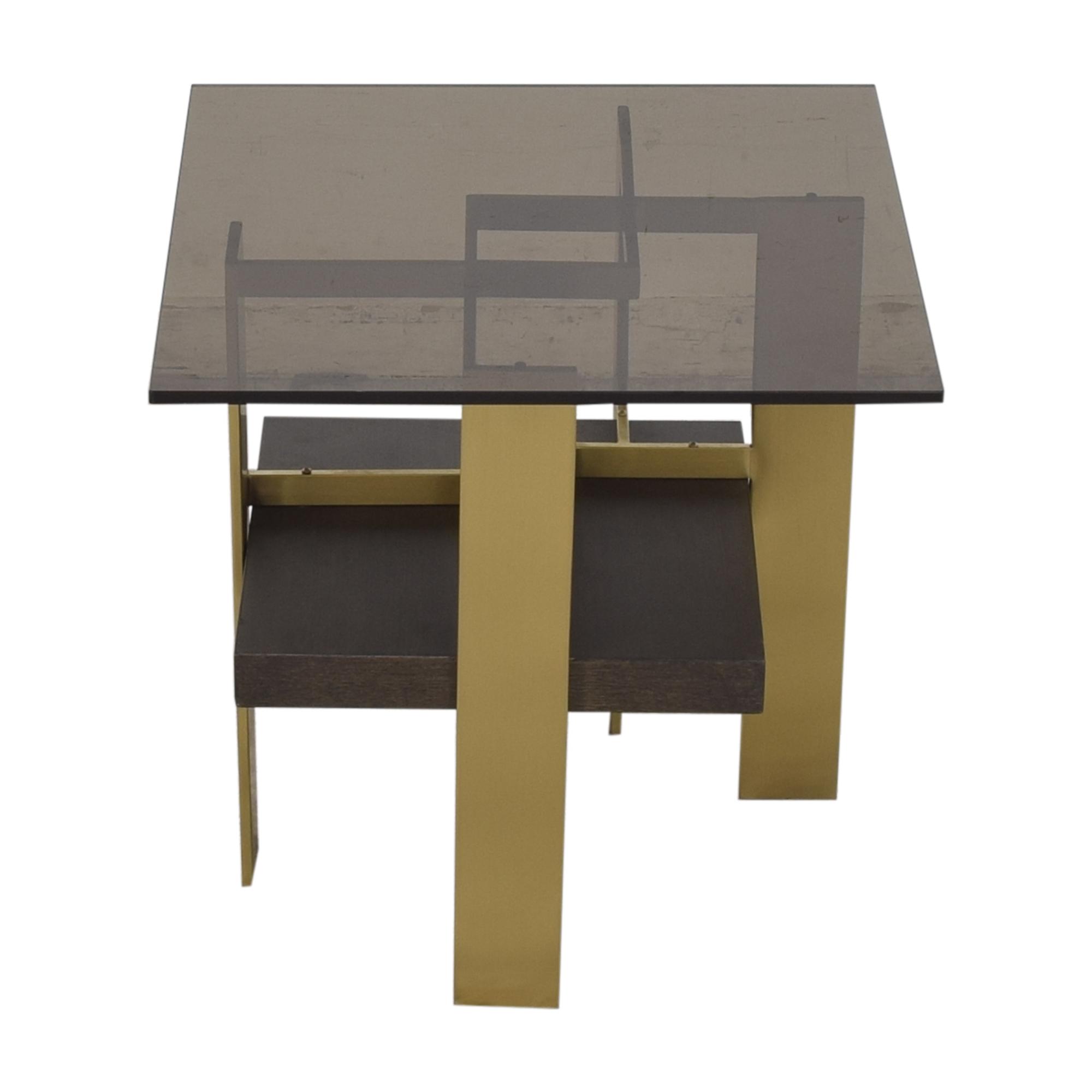 Huffman Koos Huffman Koos Geometric Side Table Tables