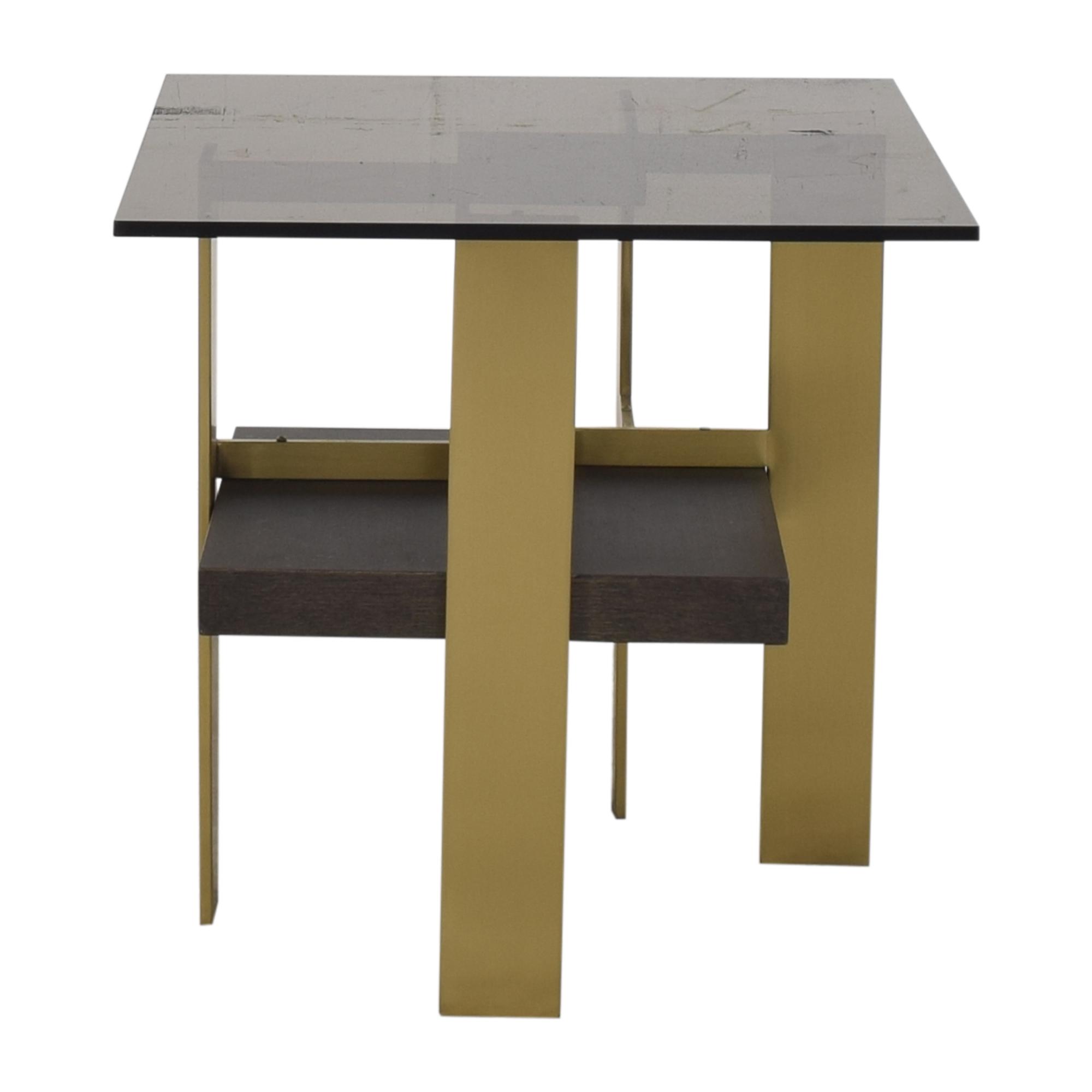 Huffman Koos Huffman Koos Geometric Side Table End Tables