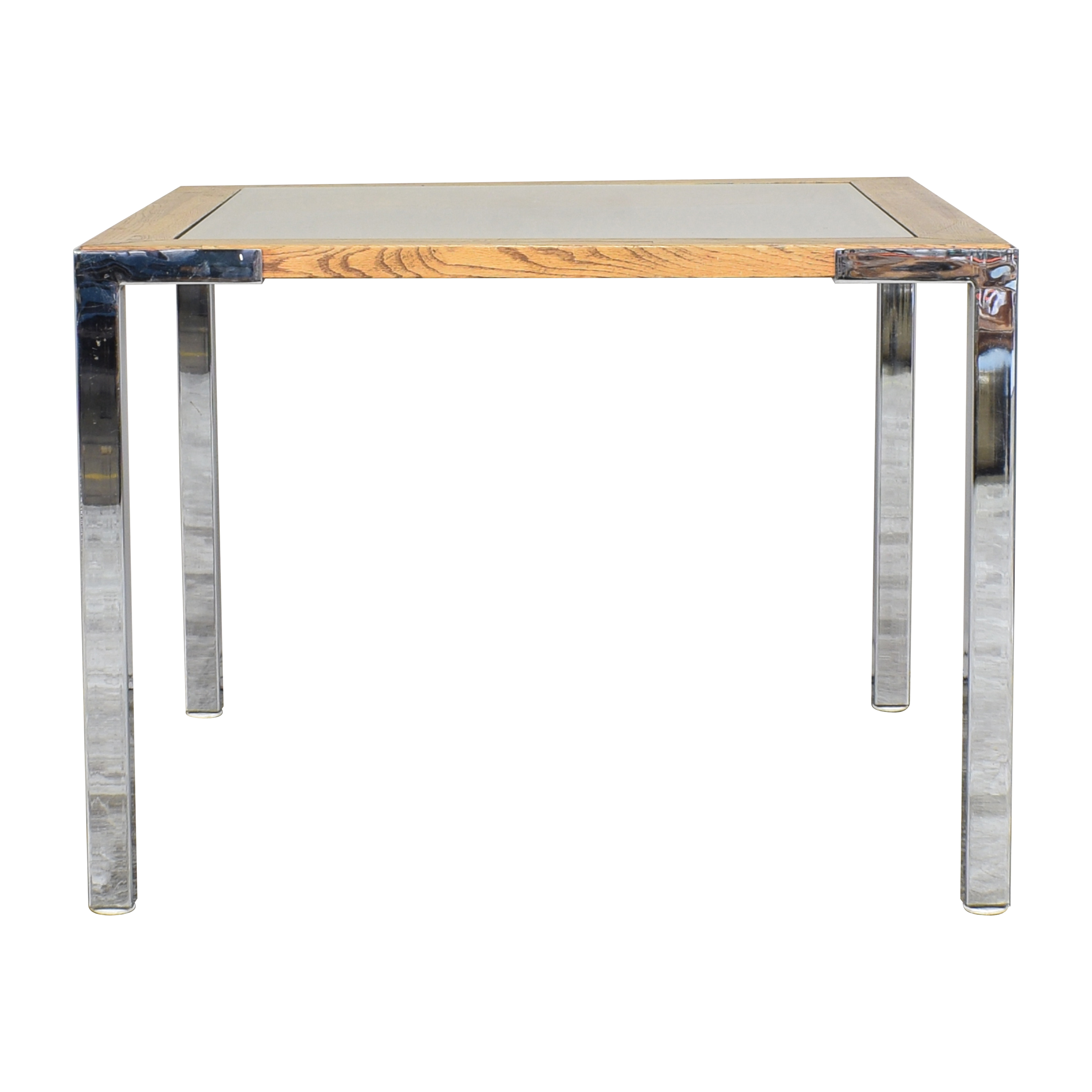Mid Century Modern Square Dining Table