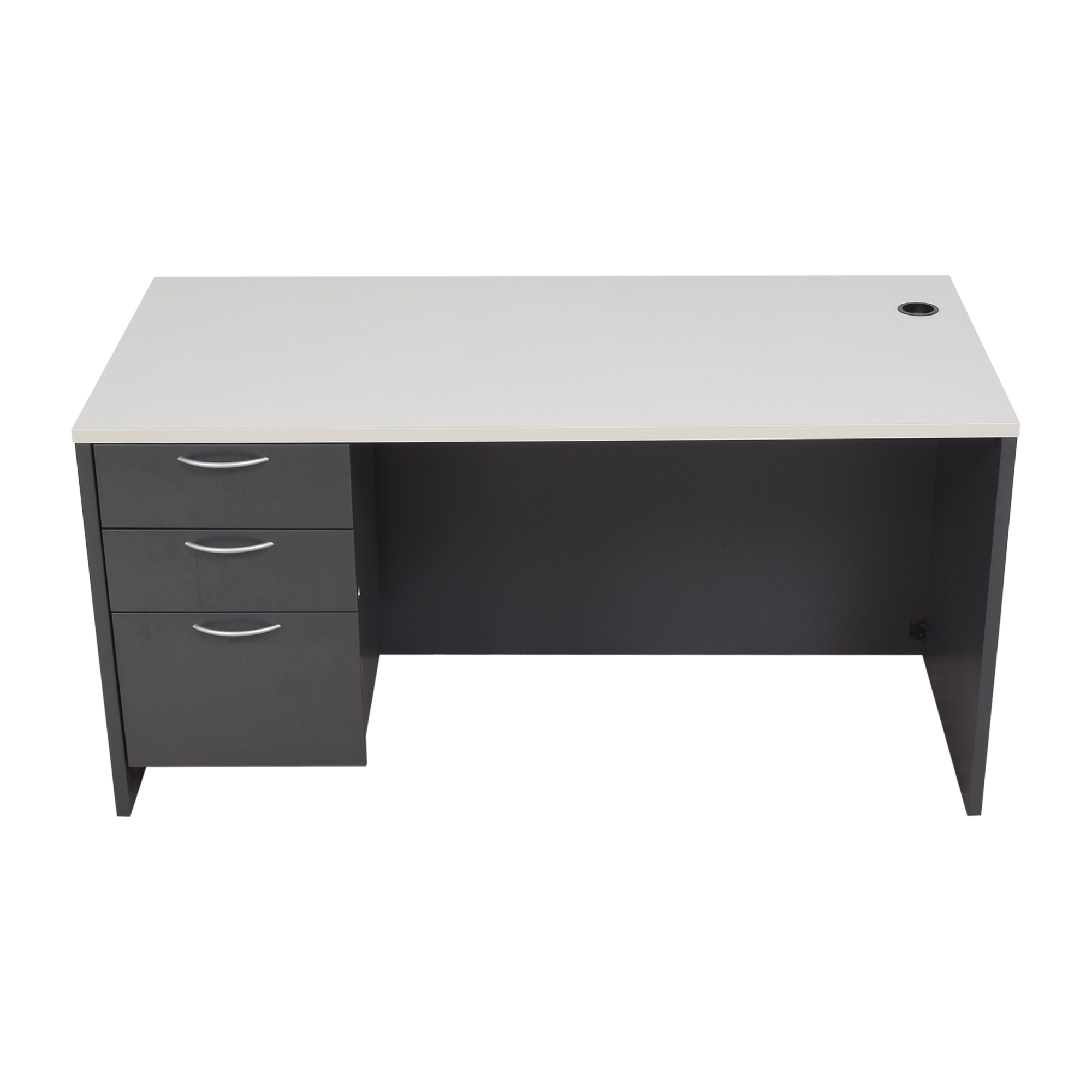 Office Furniture Heaven Office Furniture Heaven Three Drawer Desk for sale