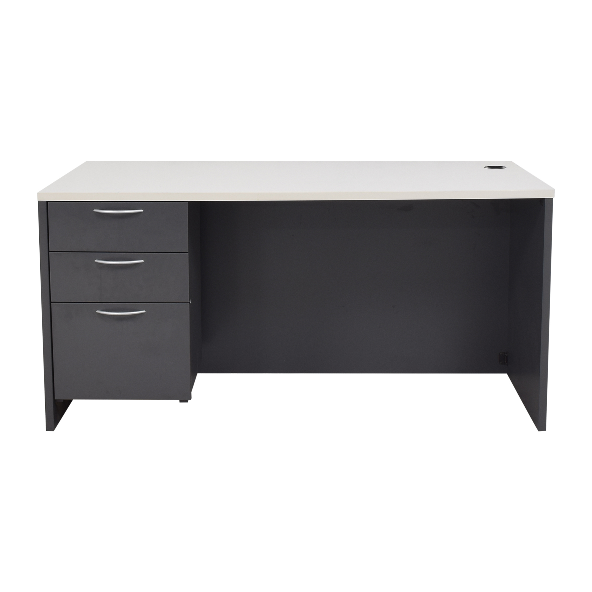buy Office Furniture Heaven Three Drawer Desk Office Furniture Heaven Home Office Desks