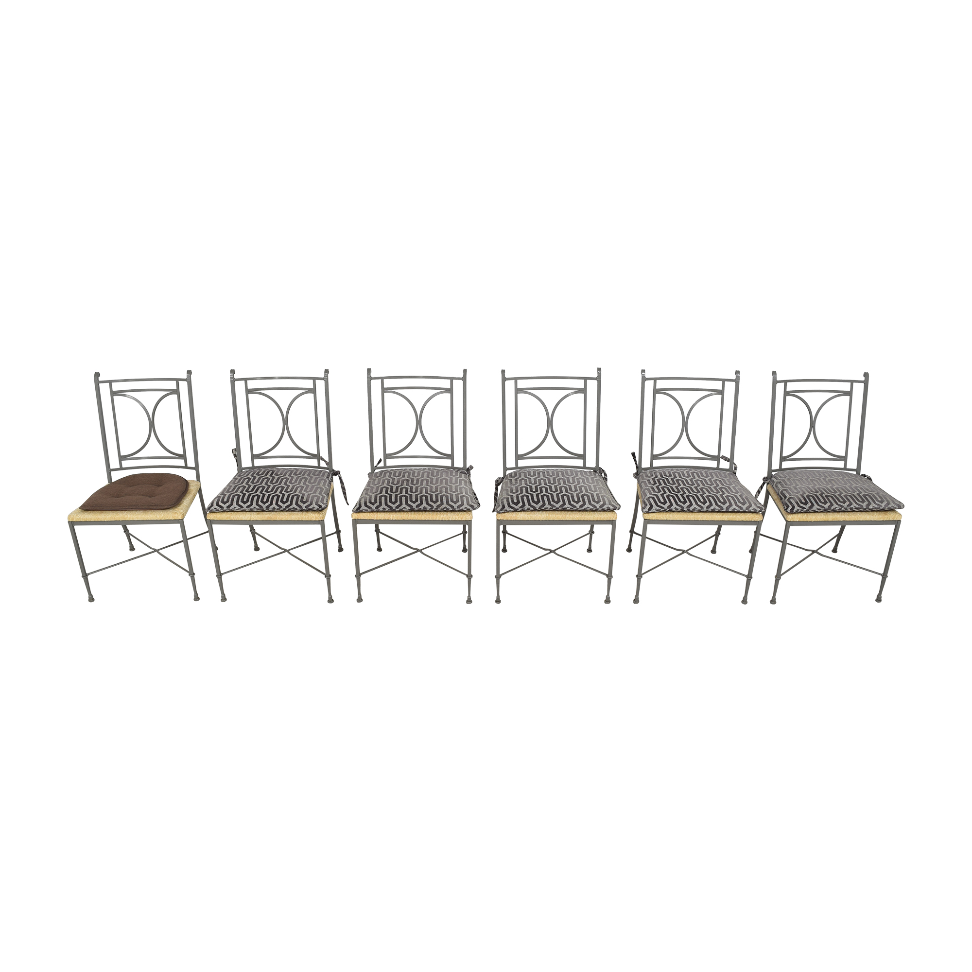 Charleston Forge Charleston Forge Woven Seat Dining Chairs with Cushions price