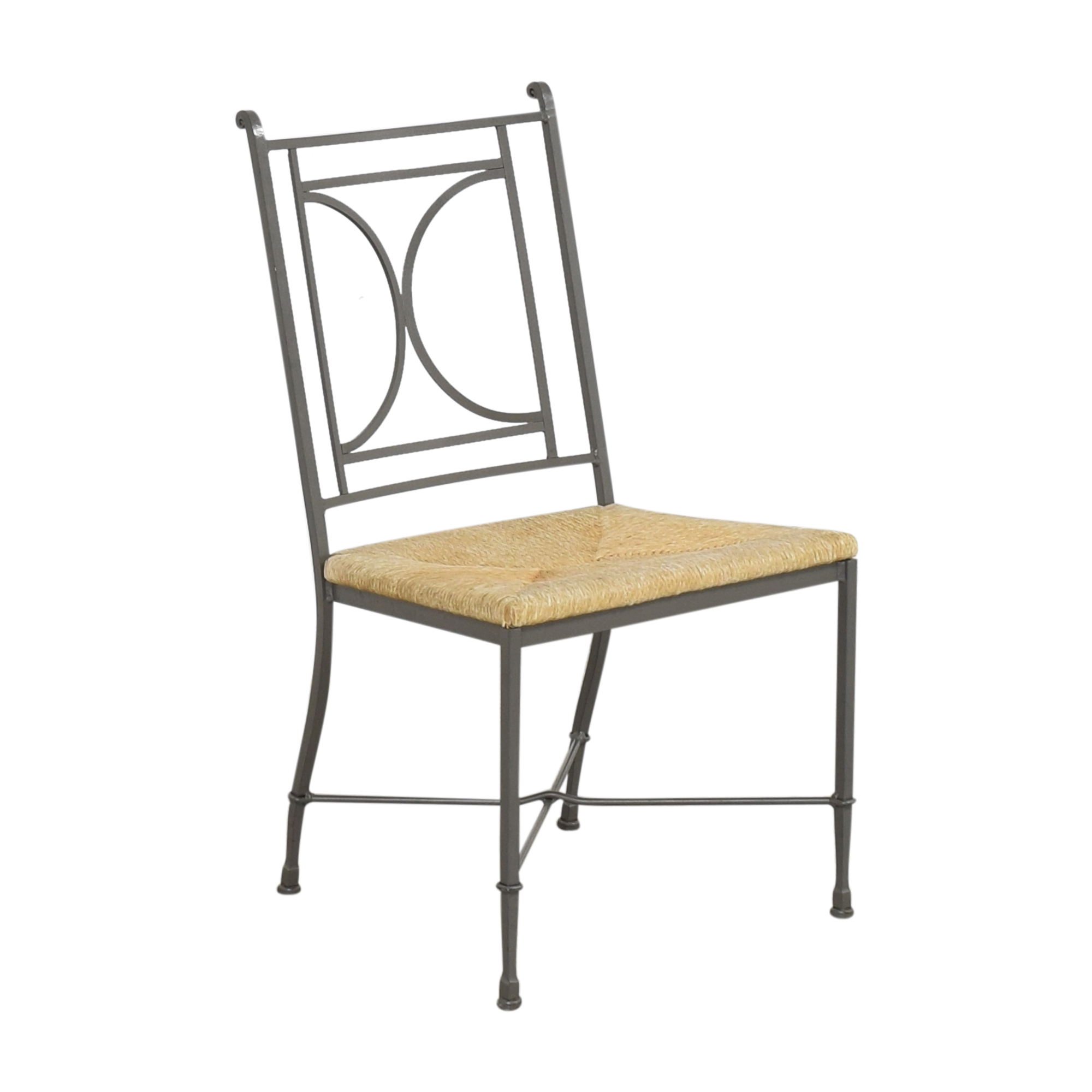 shop Charleston Forge Woven Seat Dining Chairs with Cushions Charleston Forge Chairs
