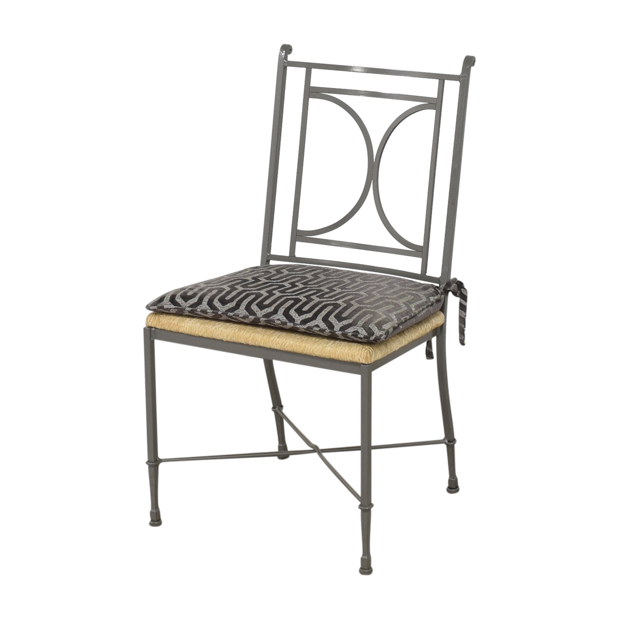 buy Charleston Forge Woven Seat Dining Chairs with Cushions Charleston Forge Dining Chairs