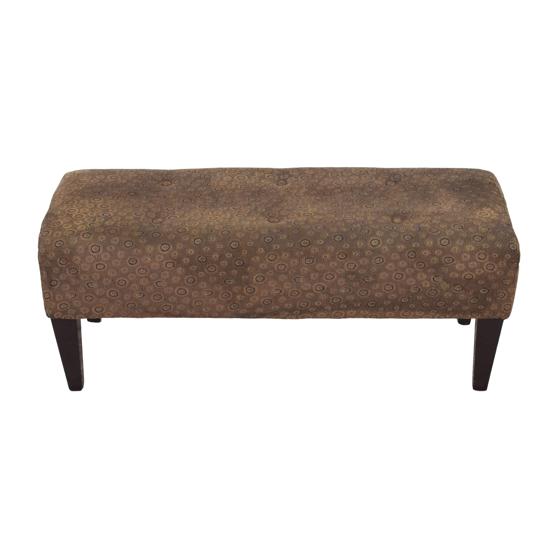 Custom Tufted Bench pa