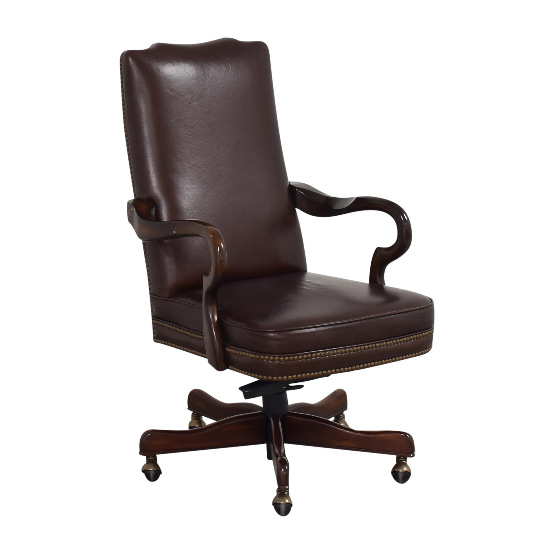 shop Bassett Furniture Home Office Chair Bassett Furniture Chairs