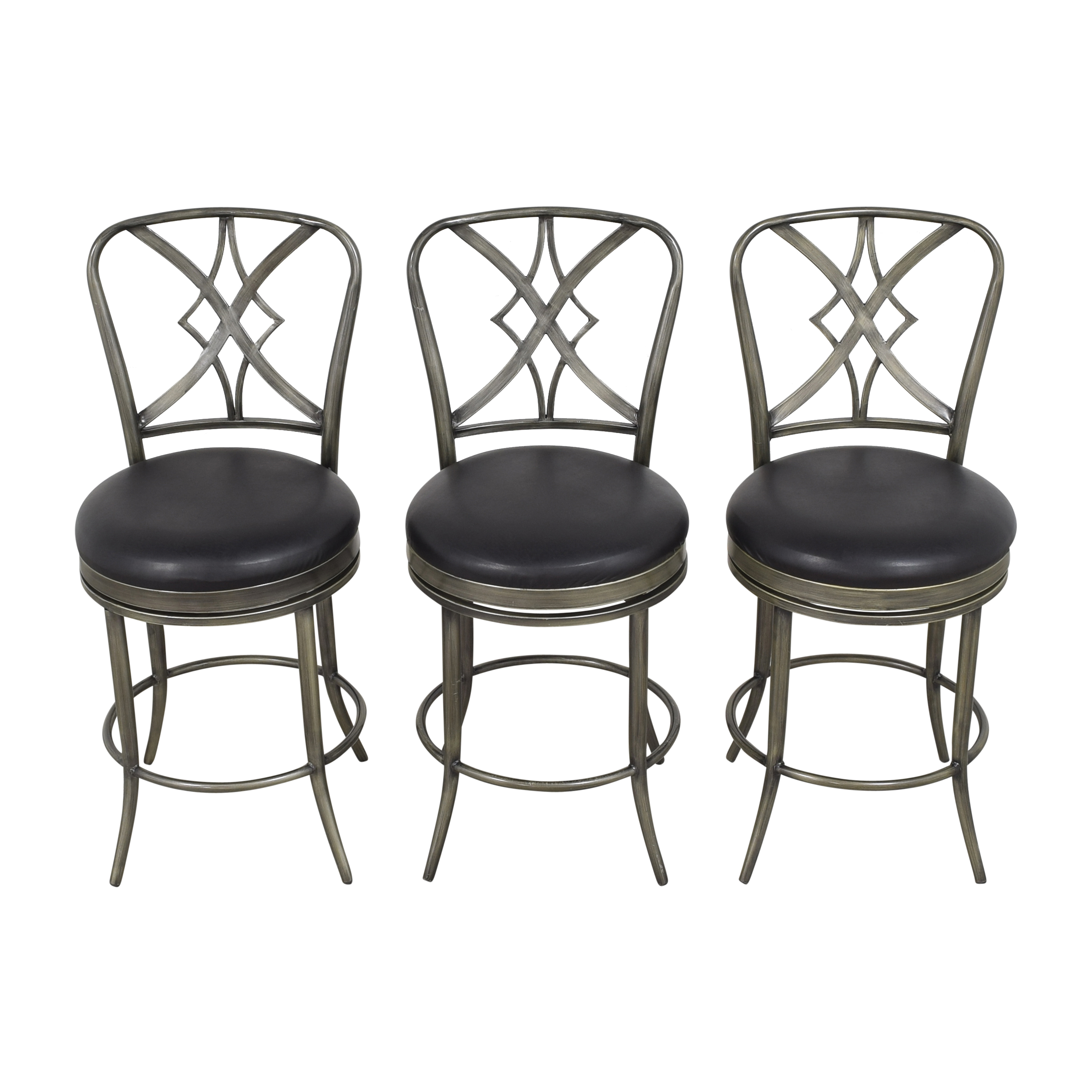 Hillsdale Furniture Hillsdale Furniture Swivel Bar Stools used