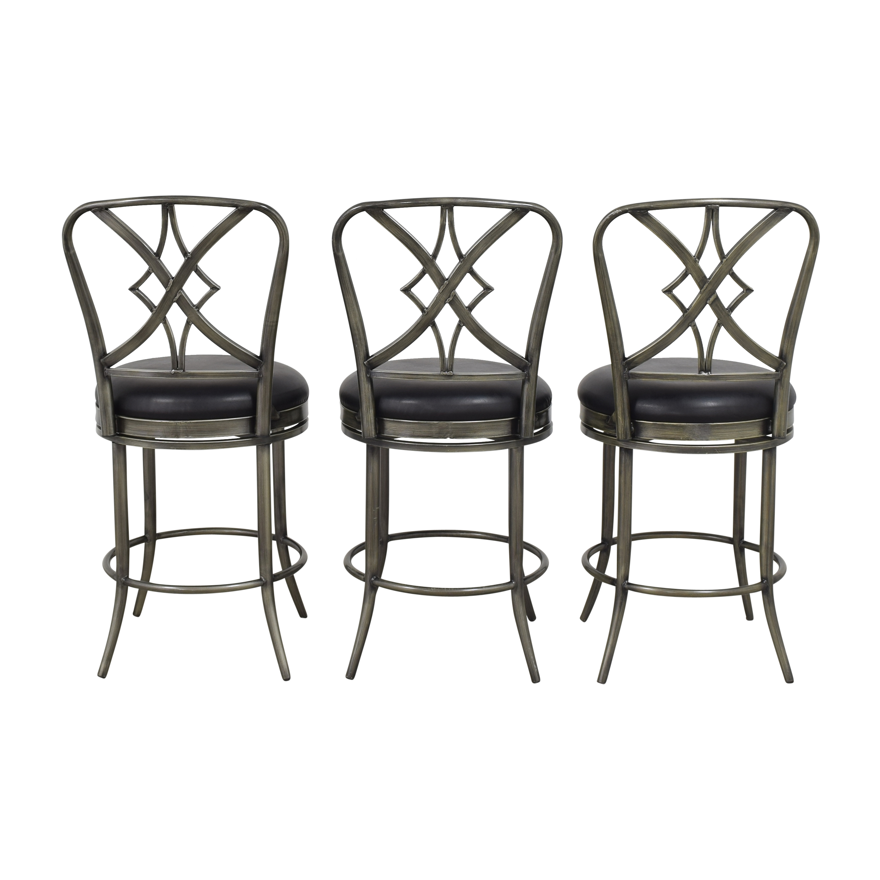 Hillsdale Furniture Hillsdale Furniture Swivel Bar Stools second hand
