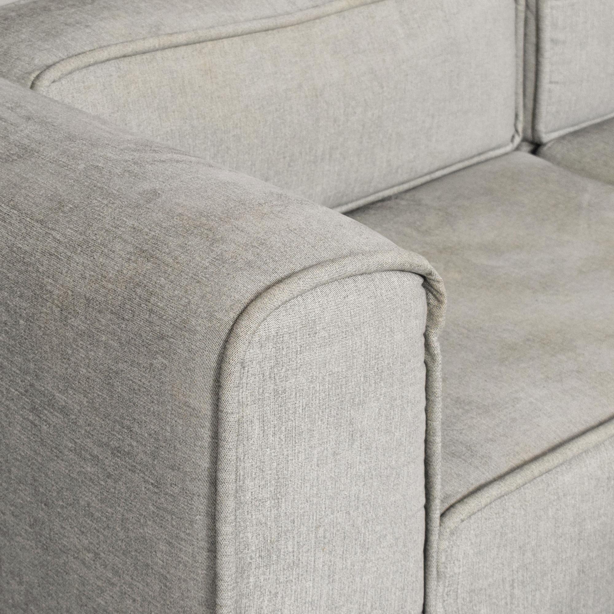 shop BoConcept Carmo Modular Sofa and Ottoman BoConcept Sectionals