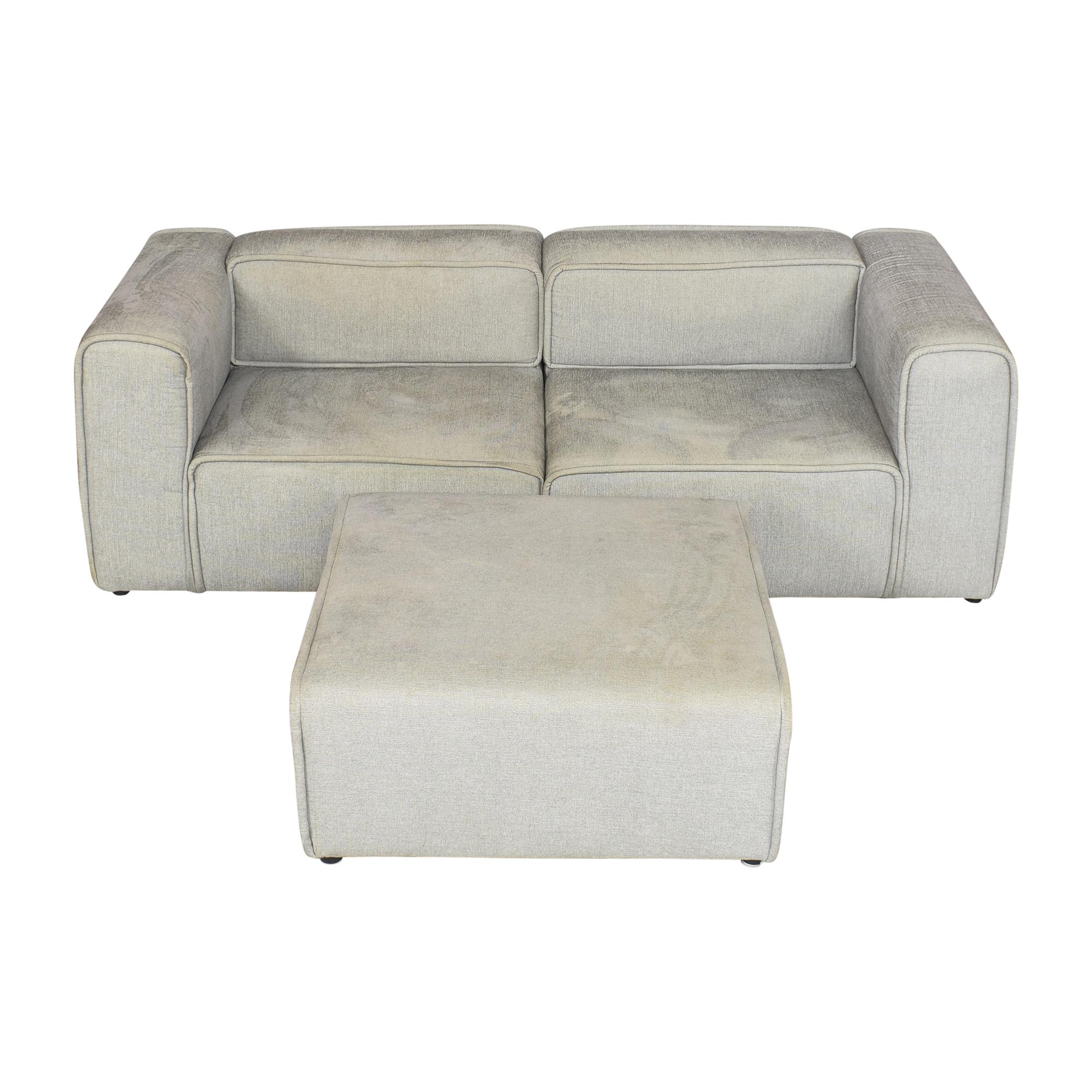 BoConcept BoConcept Carmo Modular Sofa and Ottoman Sofas