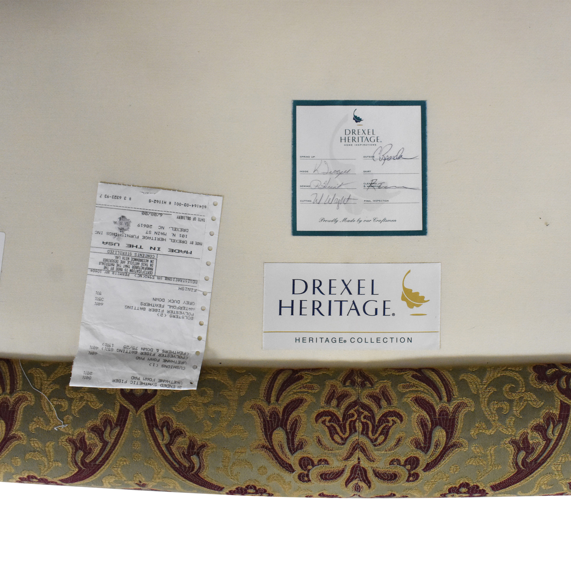 Drexel Heritage Drexel Heritage Flared Arm Sofa ma