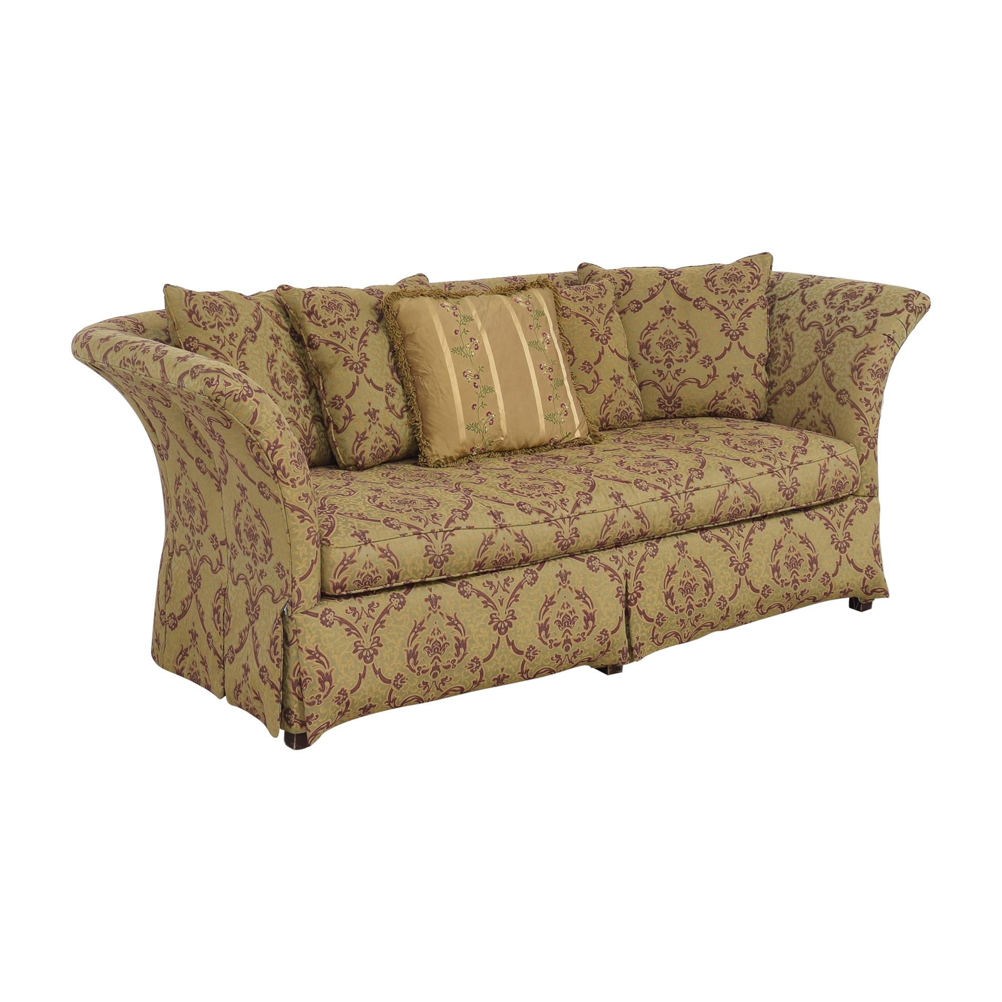 buy Drexel Heritage Flared Arm Sofa Drexel Heritage Sofas