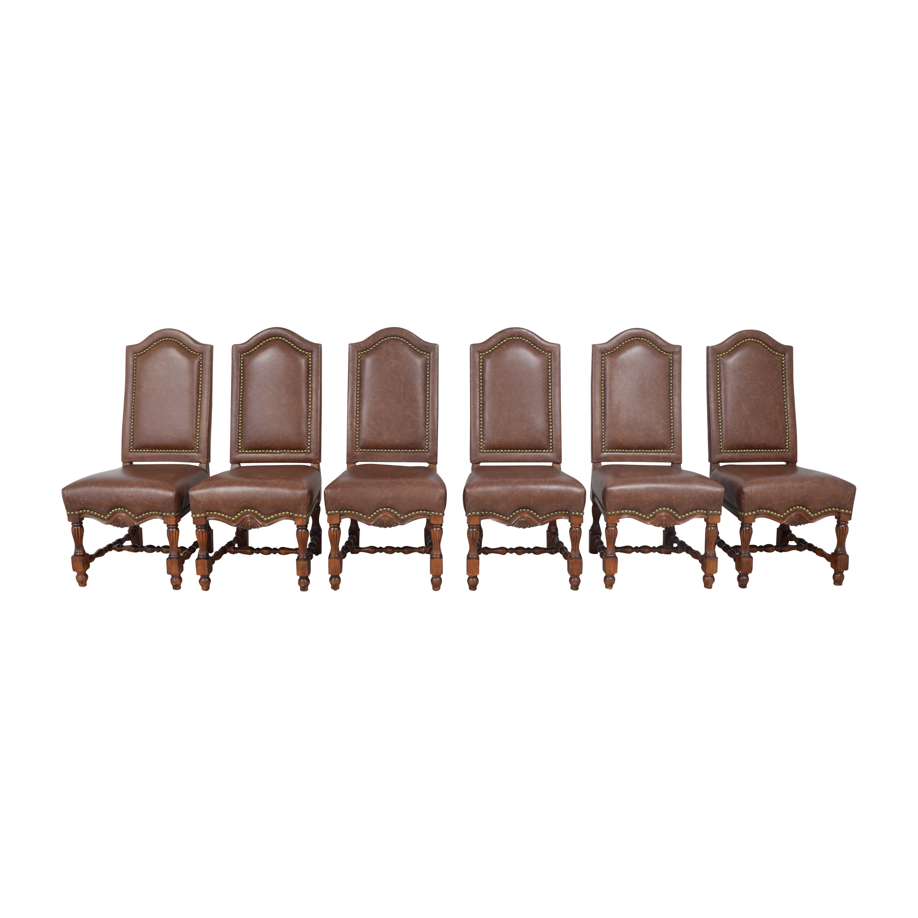 Nailhead Side Dining Chairs nj