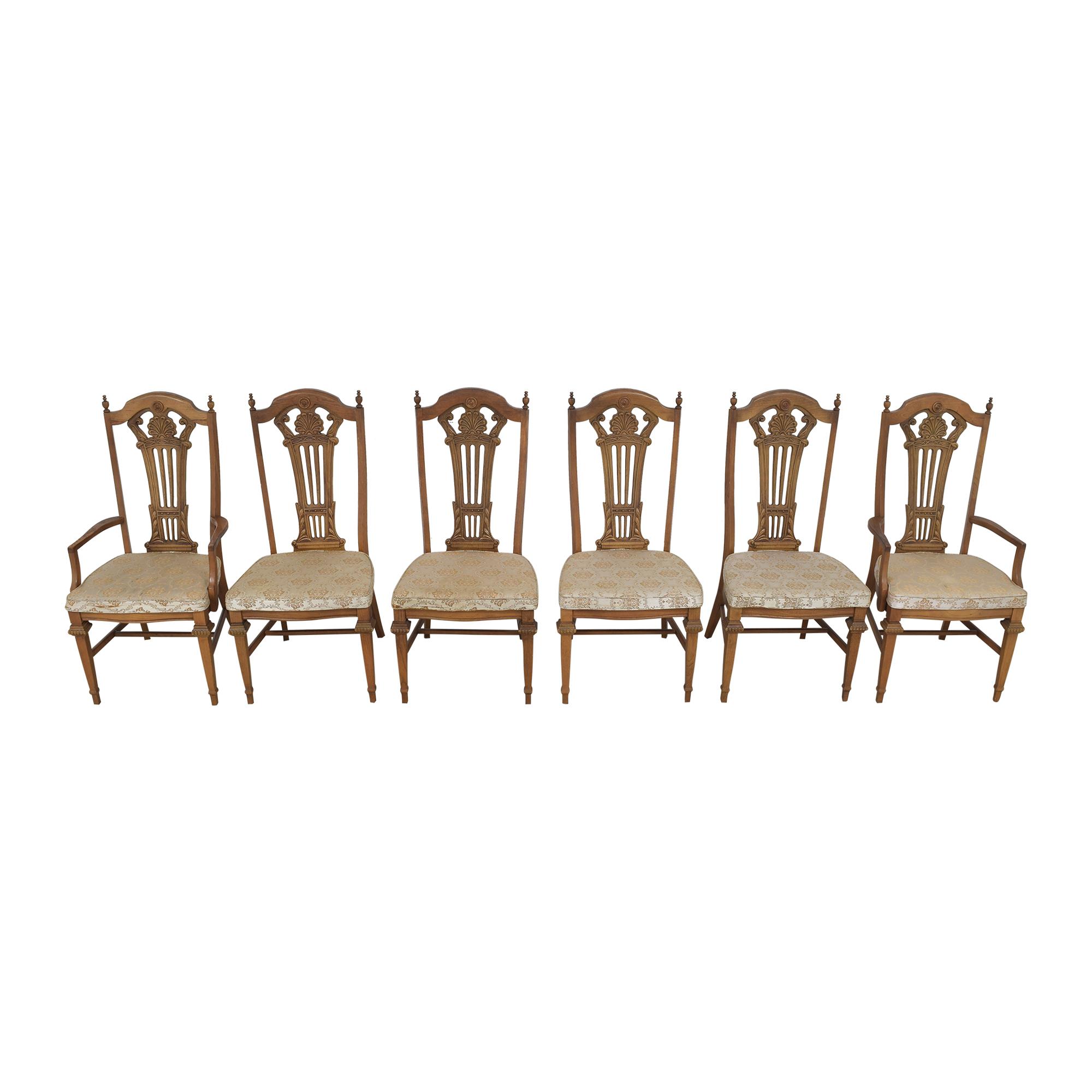shop Bassett Chair Carved Dining Chairs Bassett Furniture