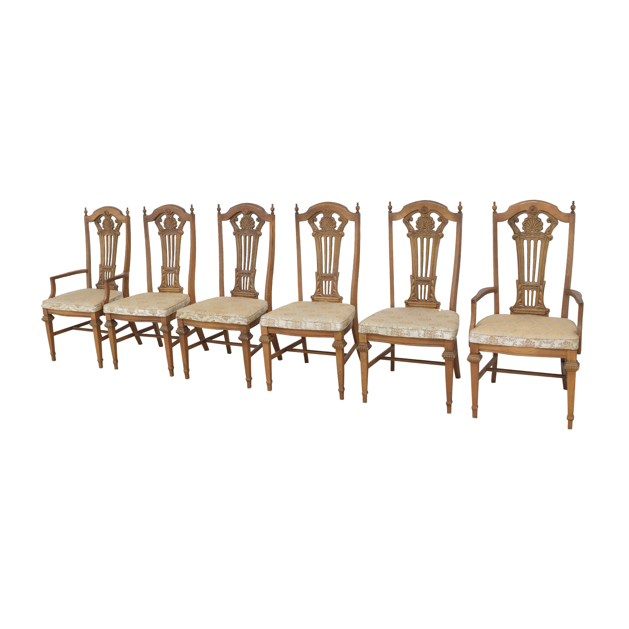 Bassett Furniture Bassett Chair Carved Dining Chairs ma