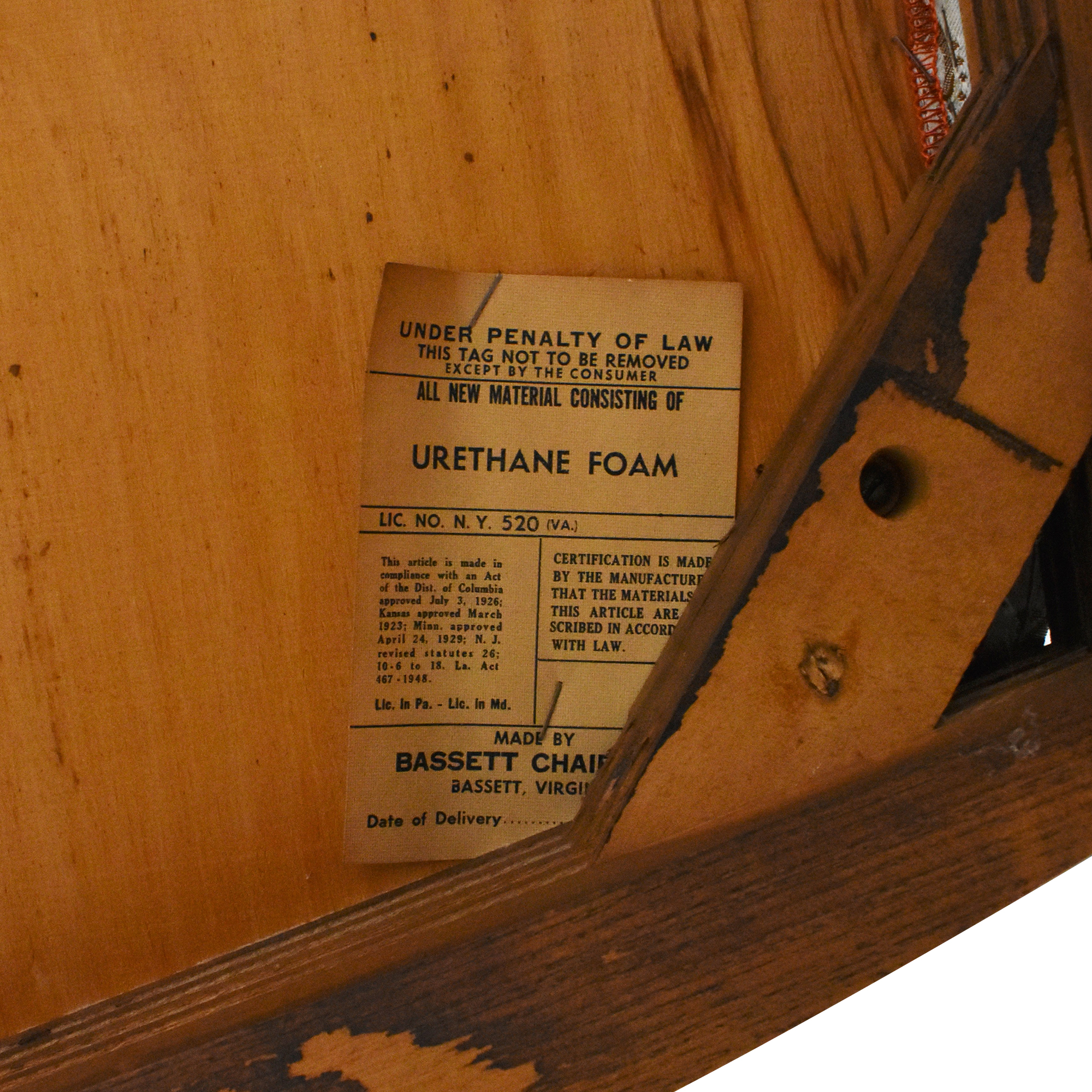 buy Bassett Furniture Bassett Chair Carved Dining Chairs online