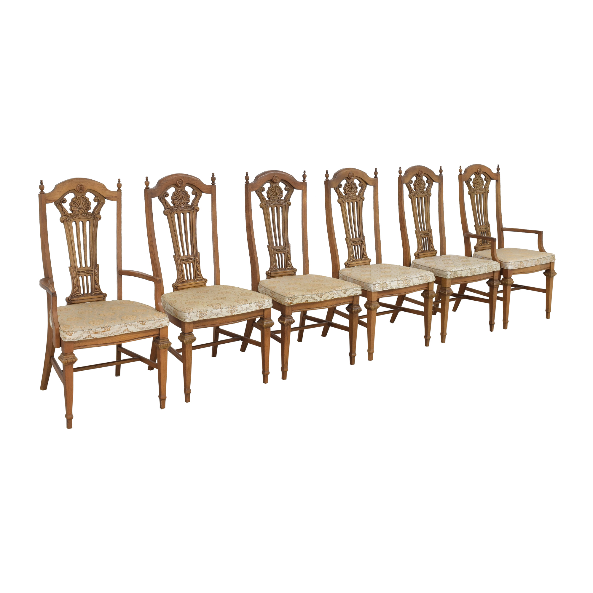 Bassett Furniture Bassett Chair Carved Dining Chairs price
