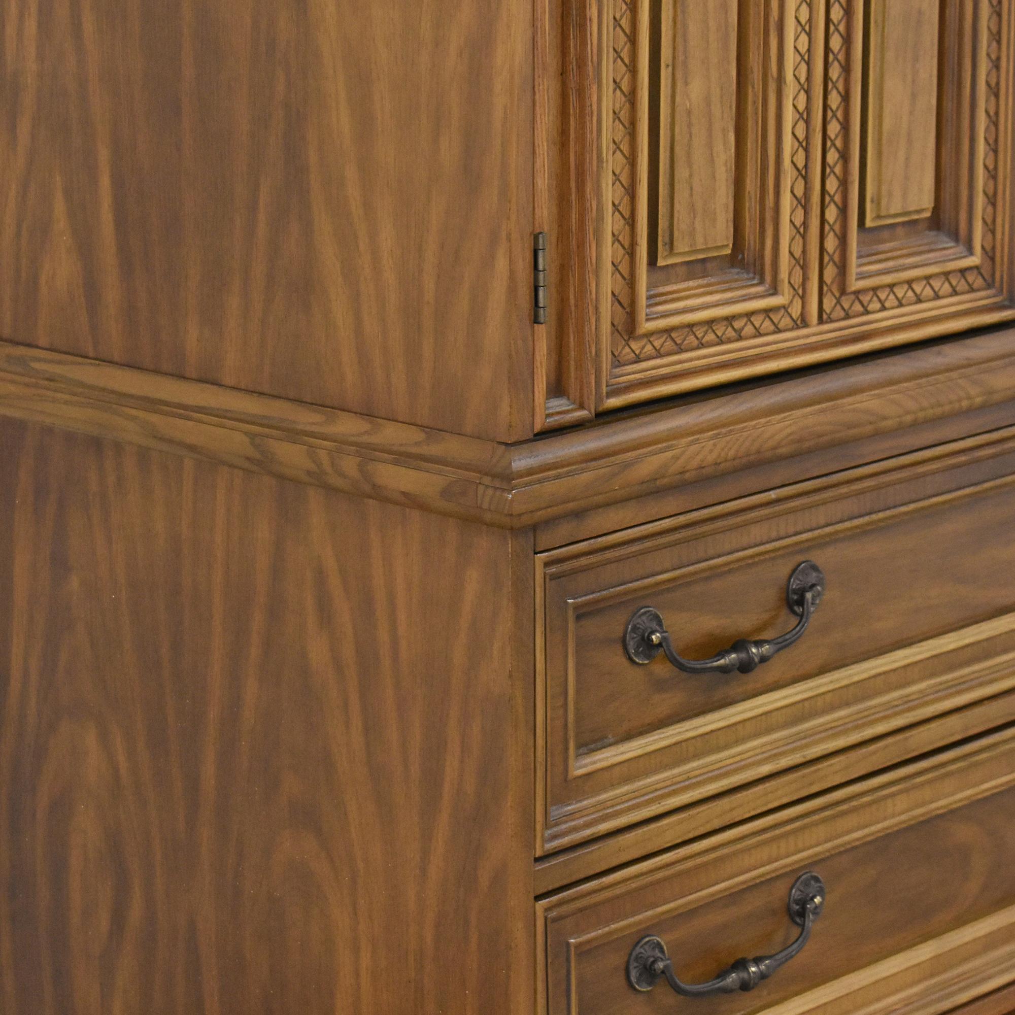 buy Bassett Cortese Door Chest Bassett Furniture