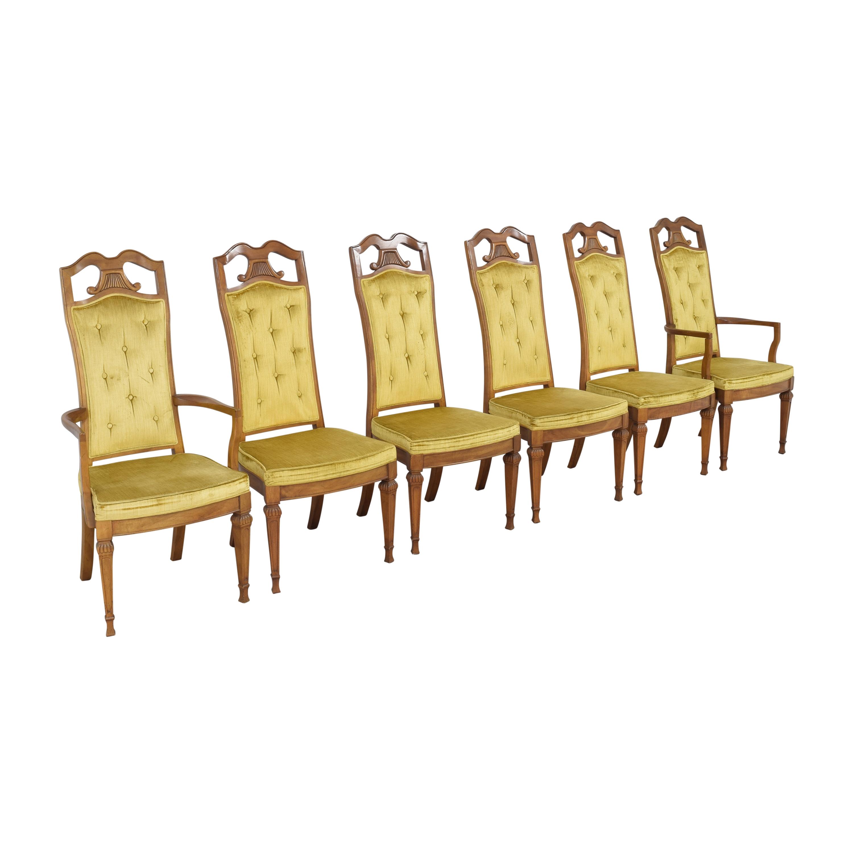 Detroit Furniture Distributing Co. Detroit Furniture Distributing Co. Upholstered Dining Chairs for sale