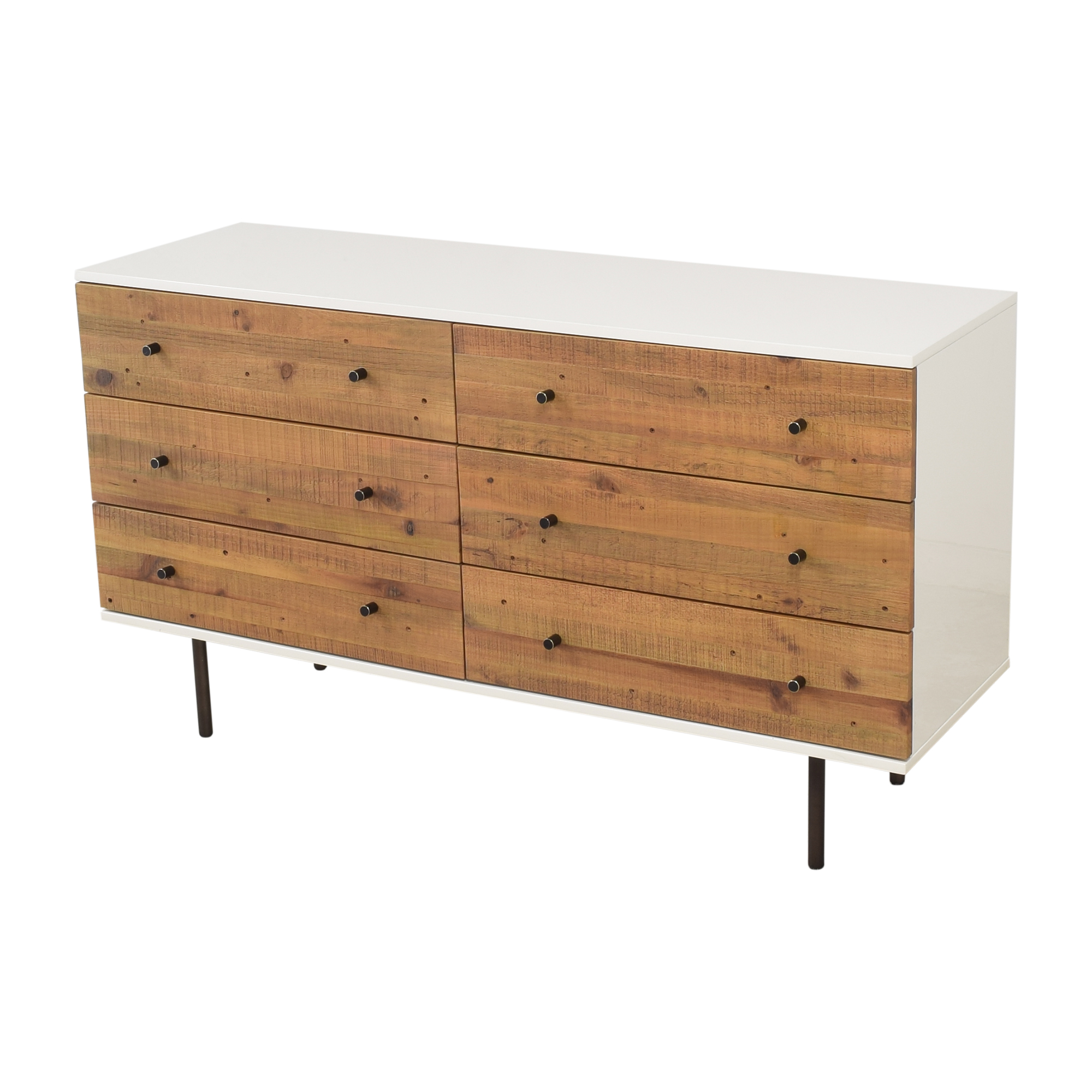 West Elm Emmerson Reclaimed Six Drawer Dresser West Elm