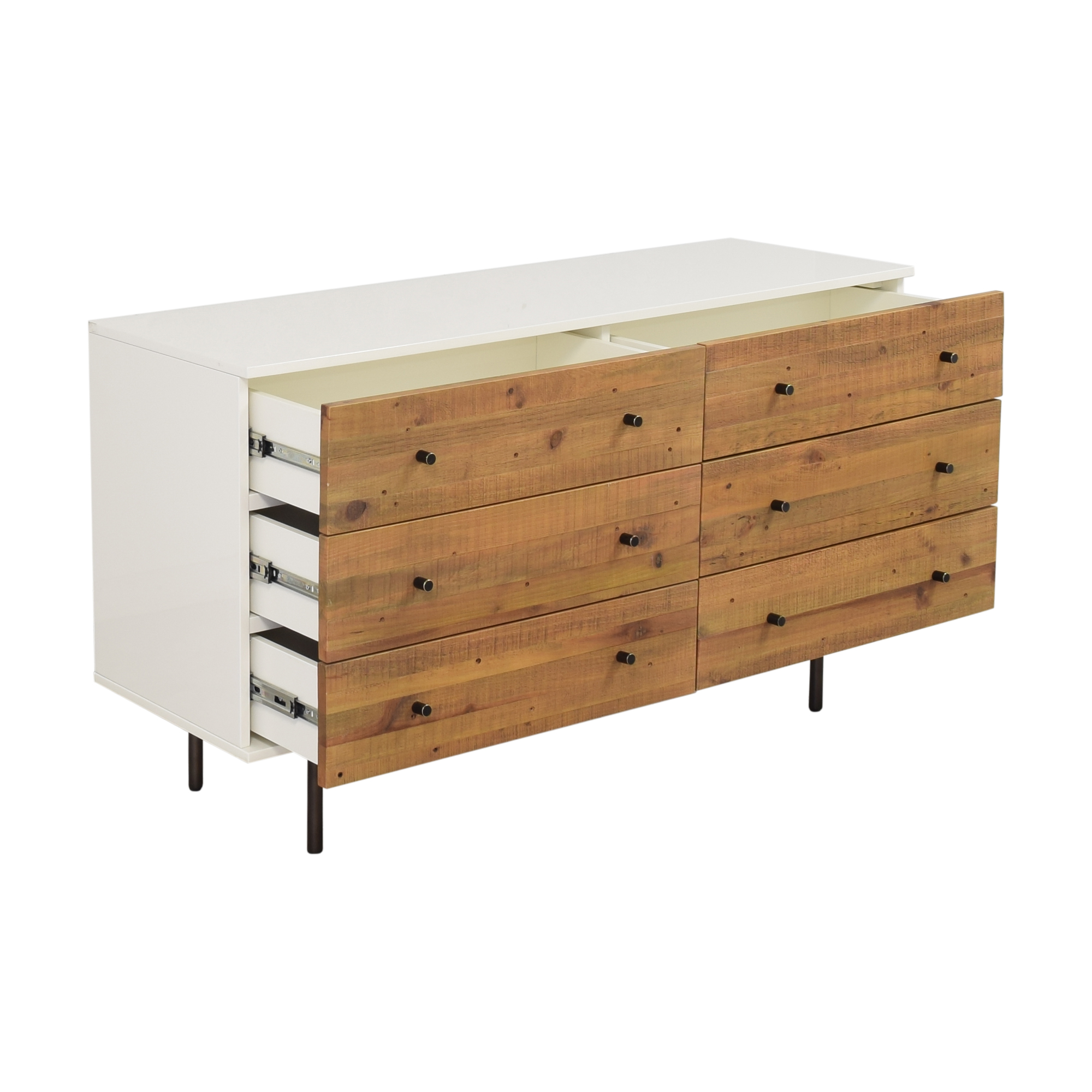 West Elm West Elm Emmerson Reclaimed Six Drawer Dresser ma