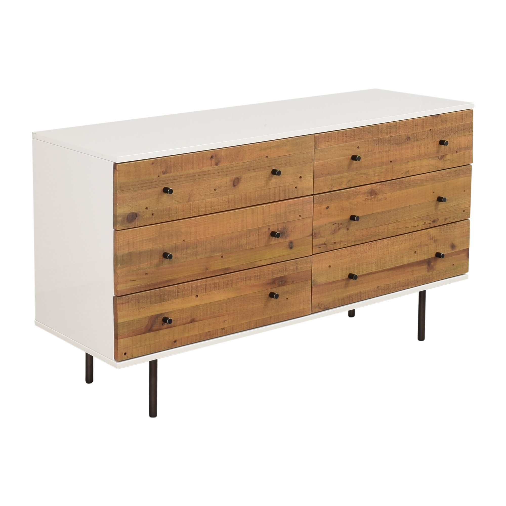 West Elm West Elm Emmerson Reclaimed Six Drawer Dresser Dressers