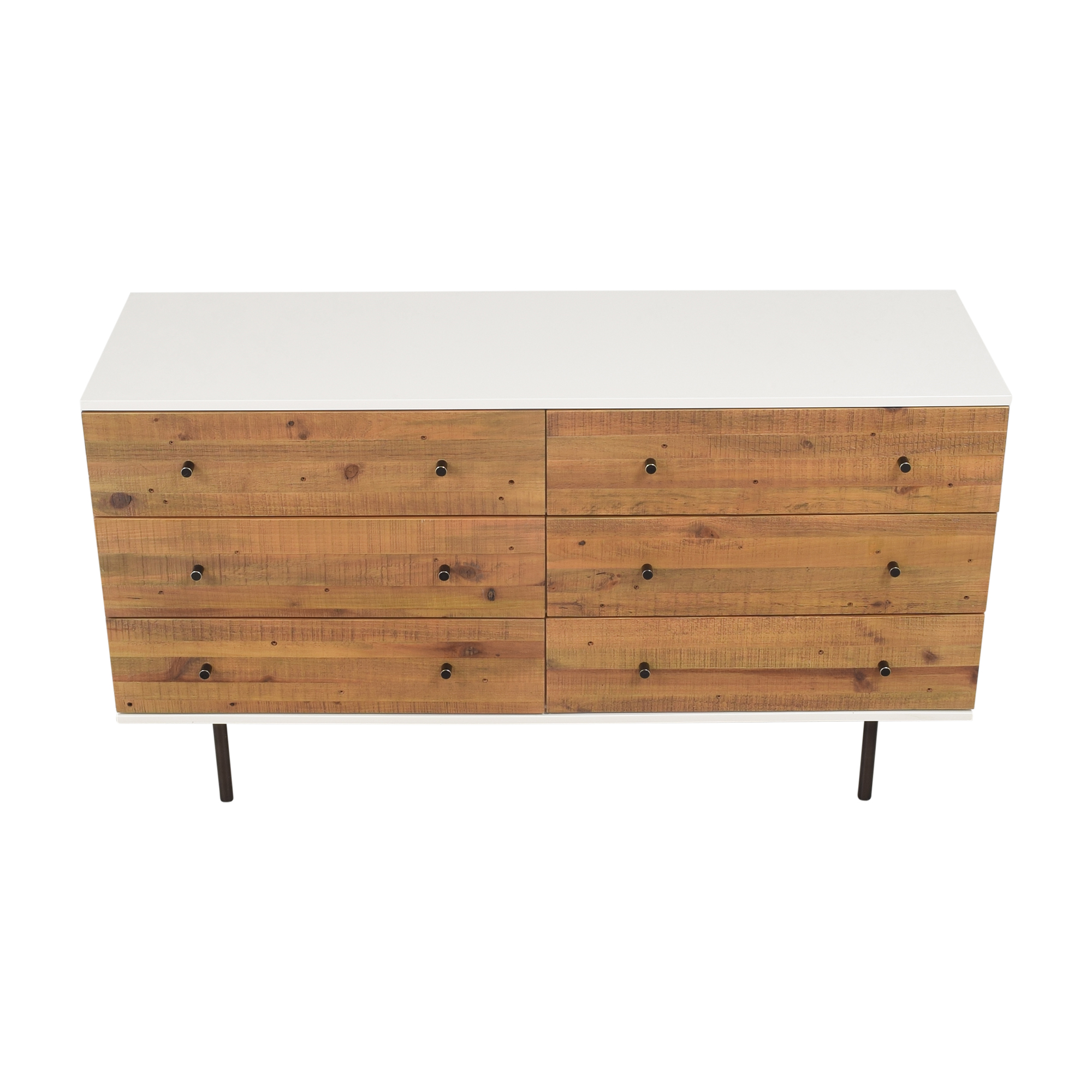 shop West Elm Emmerson Reclaimed Six Drawer Dresser West Elm Storage