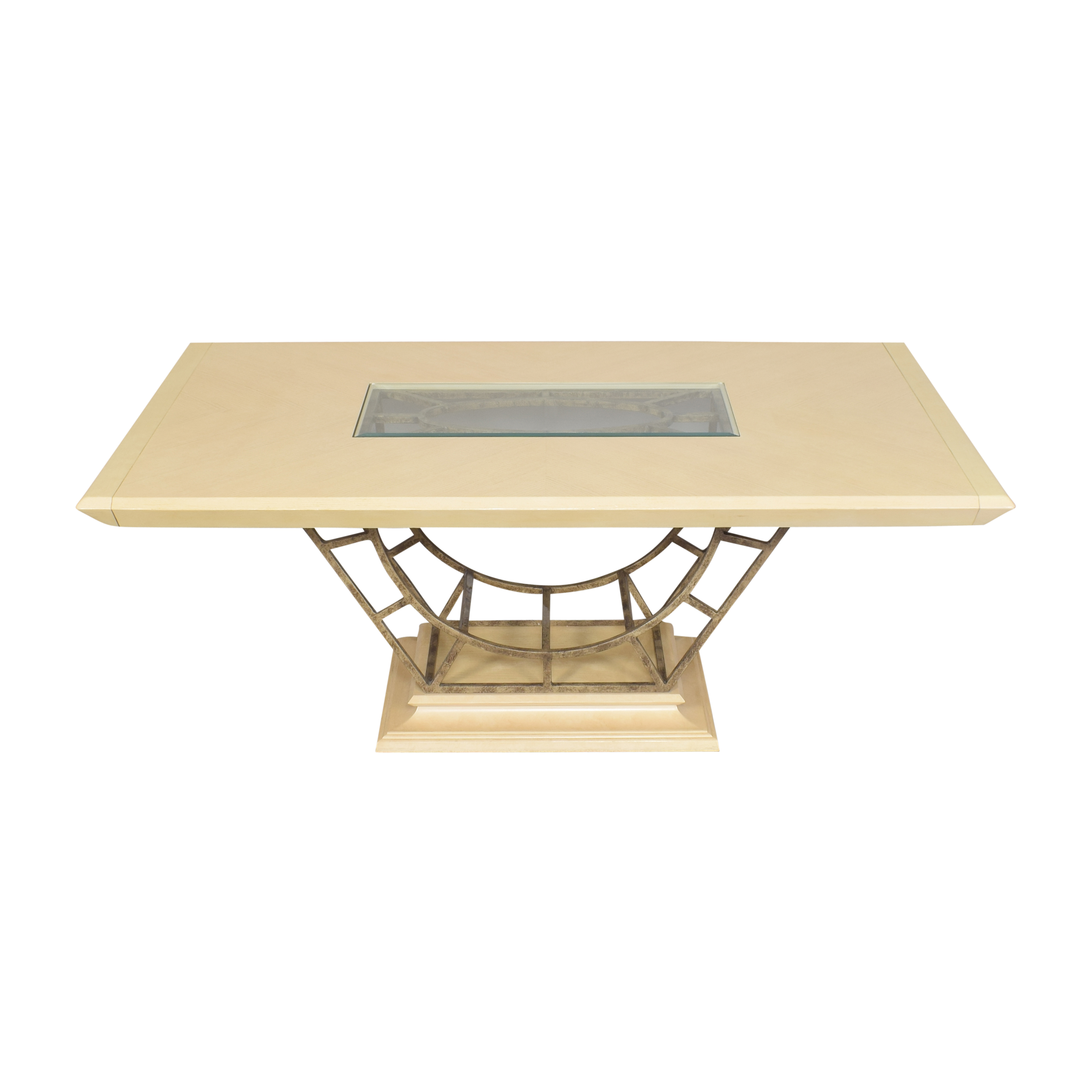 Century Furniture Century Furniture Expandable Dining Table second hand