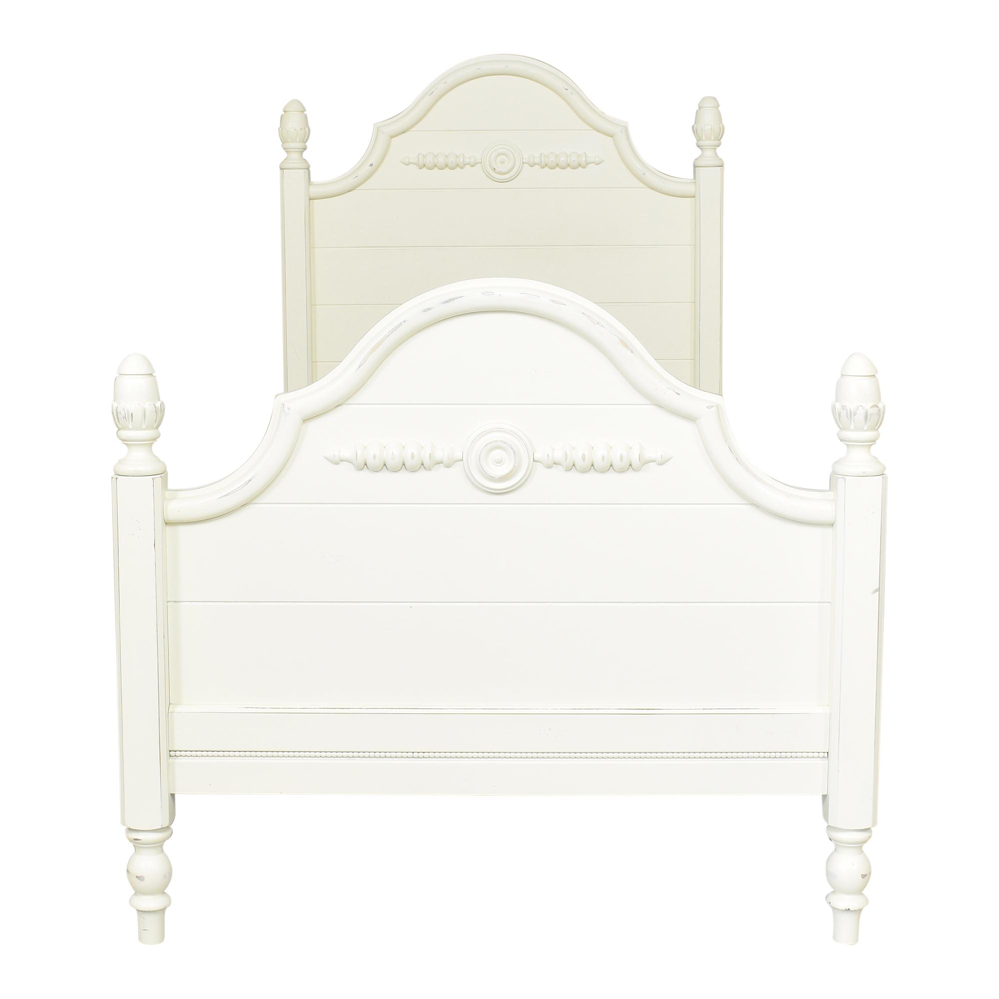 shop Lexington Twin Poster Bed Lexington Furniture Beds