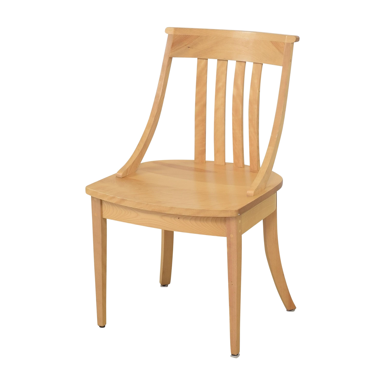 buy Pompanoosuc Mills Norwich Dining Side Chairs Pompanoosuc Mills Dining Chairs