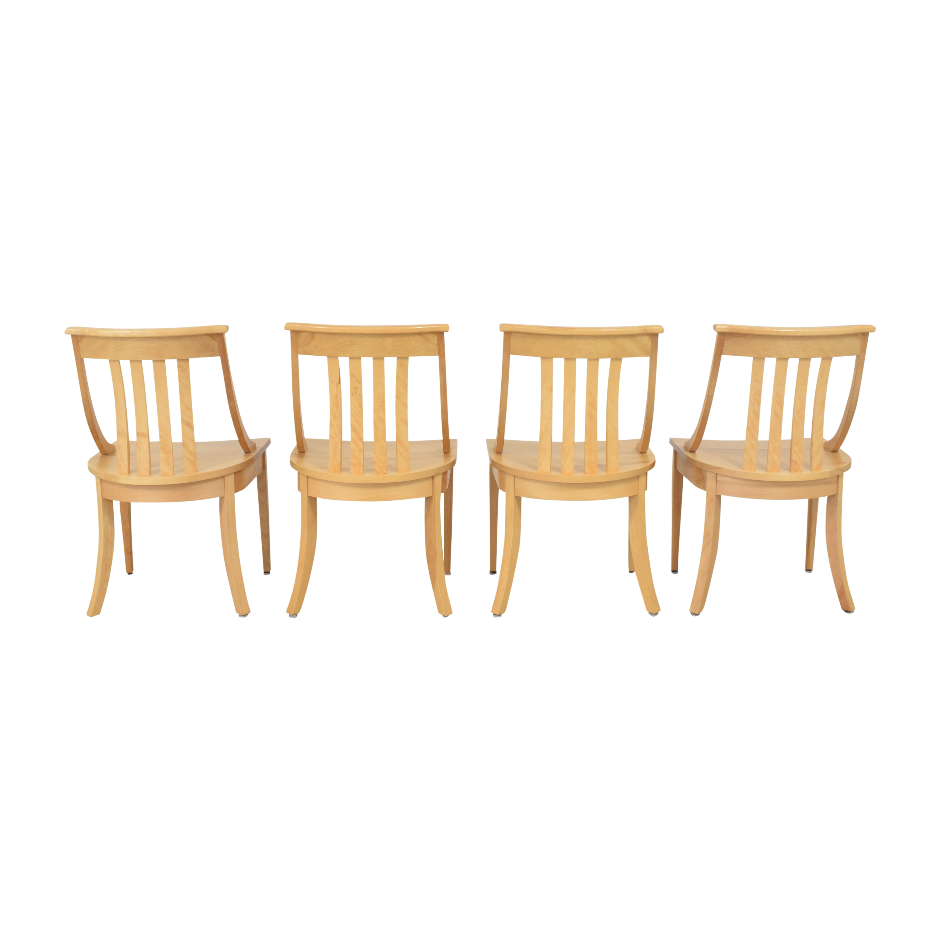 Pompanoosuc Mills Pompanoosuc Mills Norwich Dining Side Chairs Dining Chairs