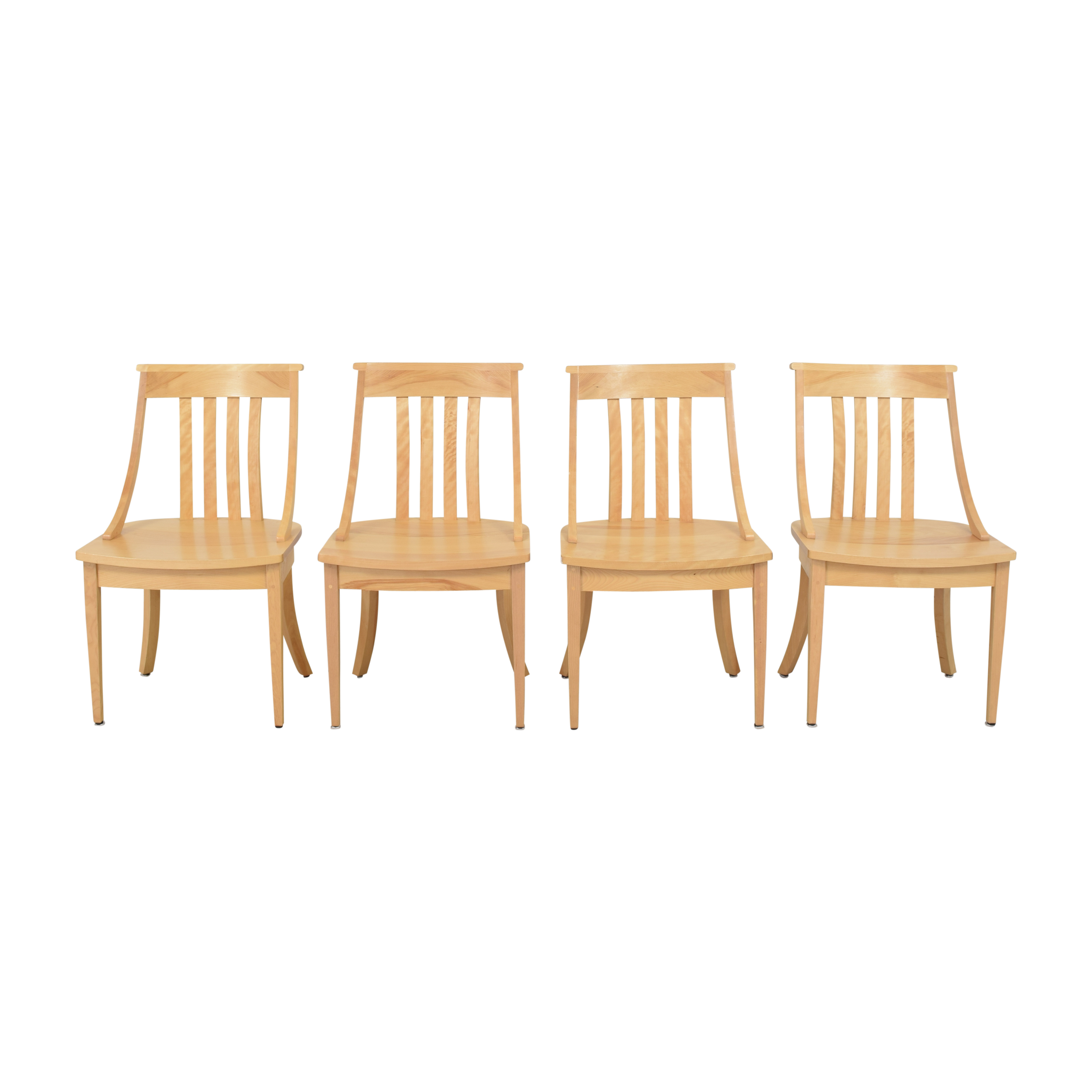 Pompanoosuc Mills Pompanoosuc Mills Norwich Dining Side Chairs ma