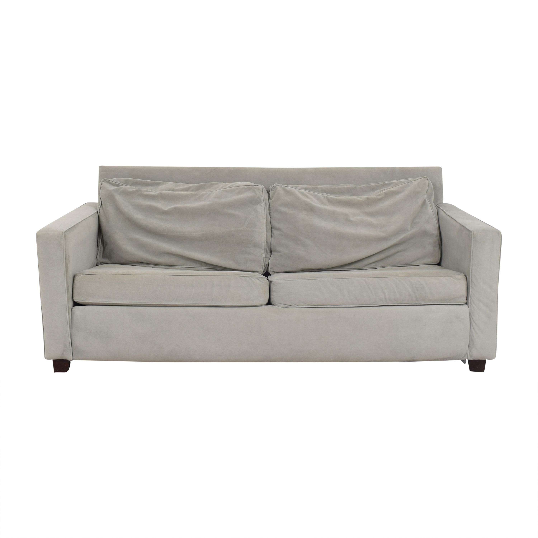 West Elm West Elm Henry Queen Sleeper Sofa light grey