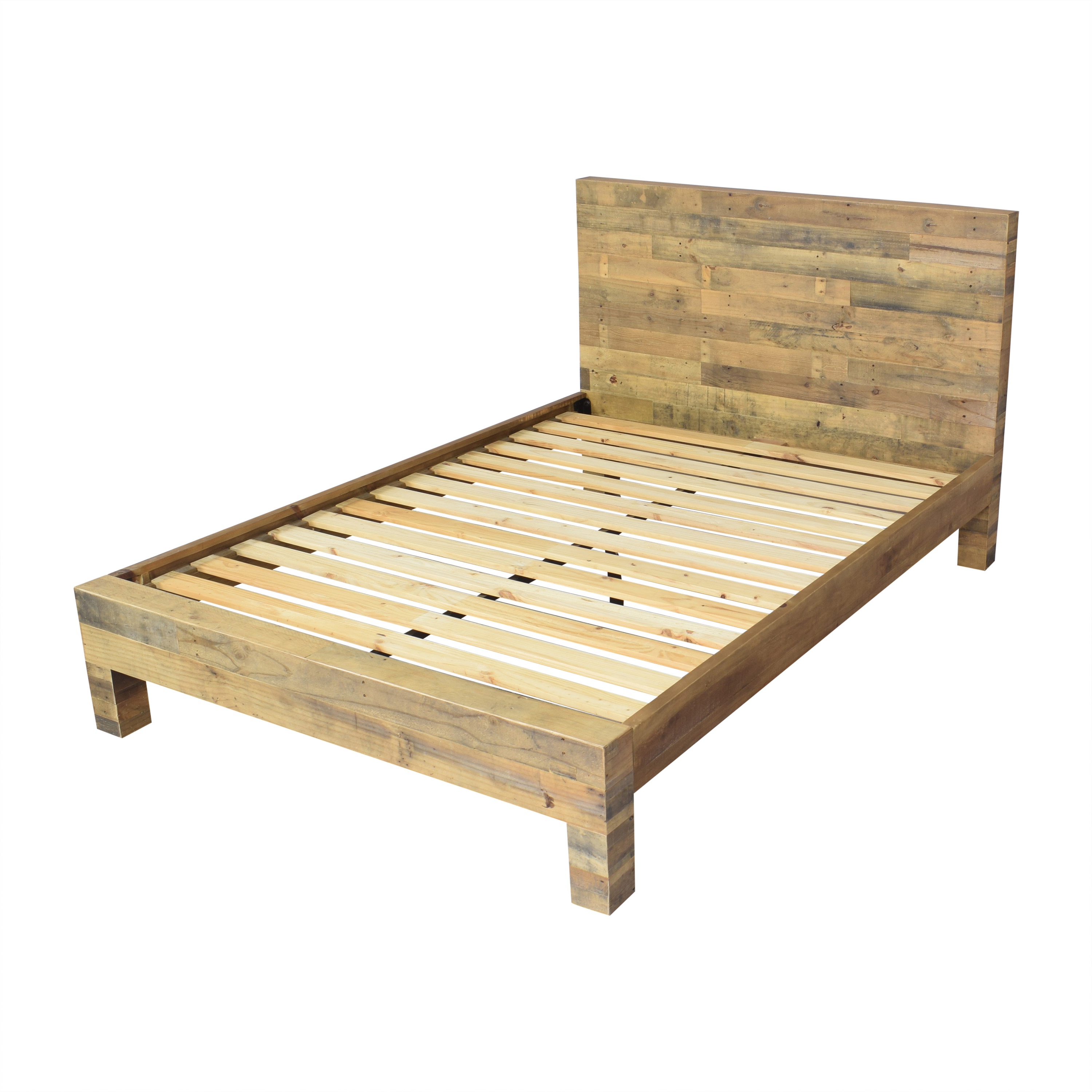 West Elm West Elm Emmerson Reclaimed Queen Bed used