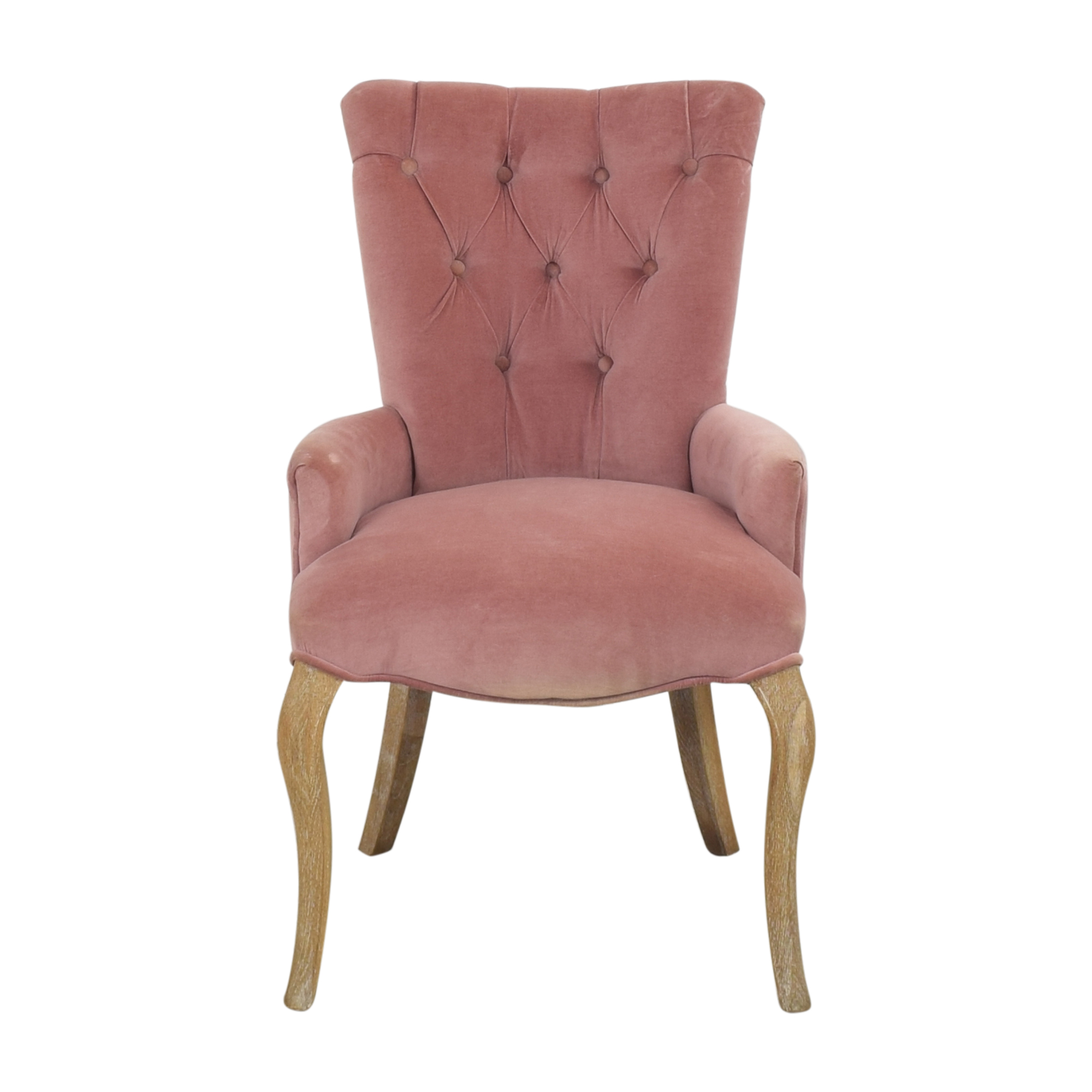 Zentique Zentique Iris Tufted Armchair ct
