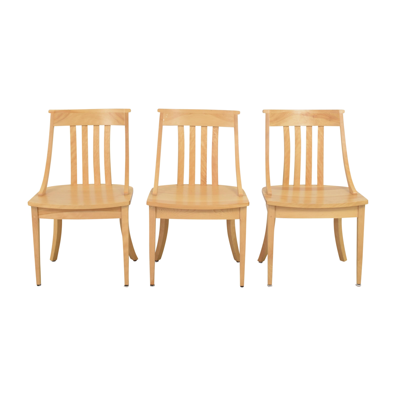 buy Pompanoosuc Mills Norwich Dining Side Chairs Pompanoosuc Mills Chairs