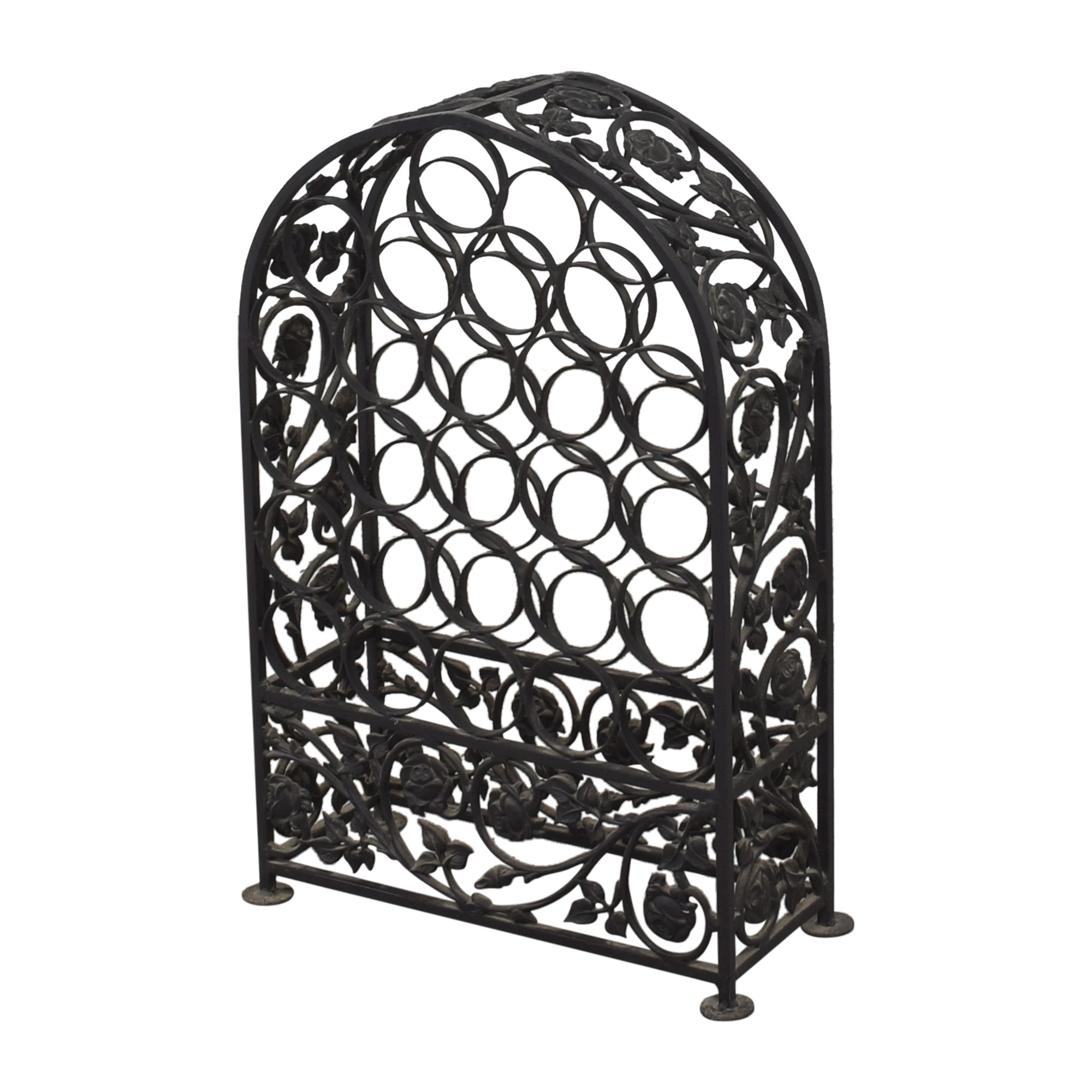 Arched Wine Rack used