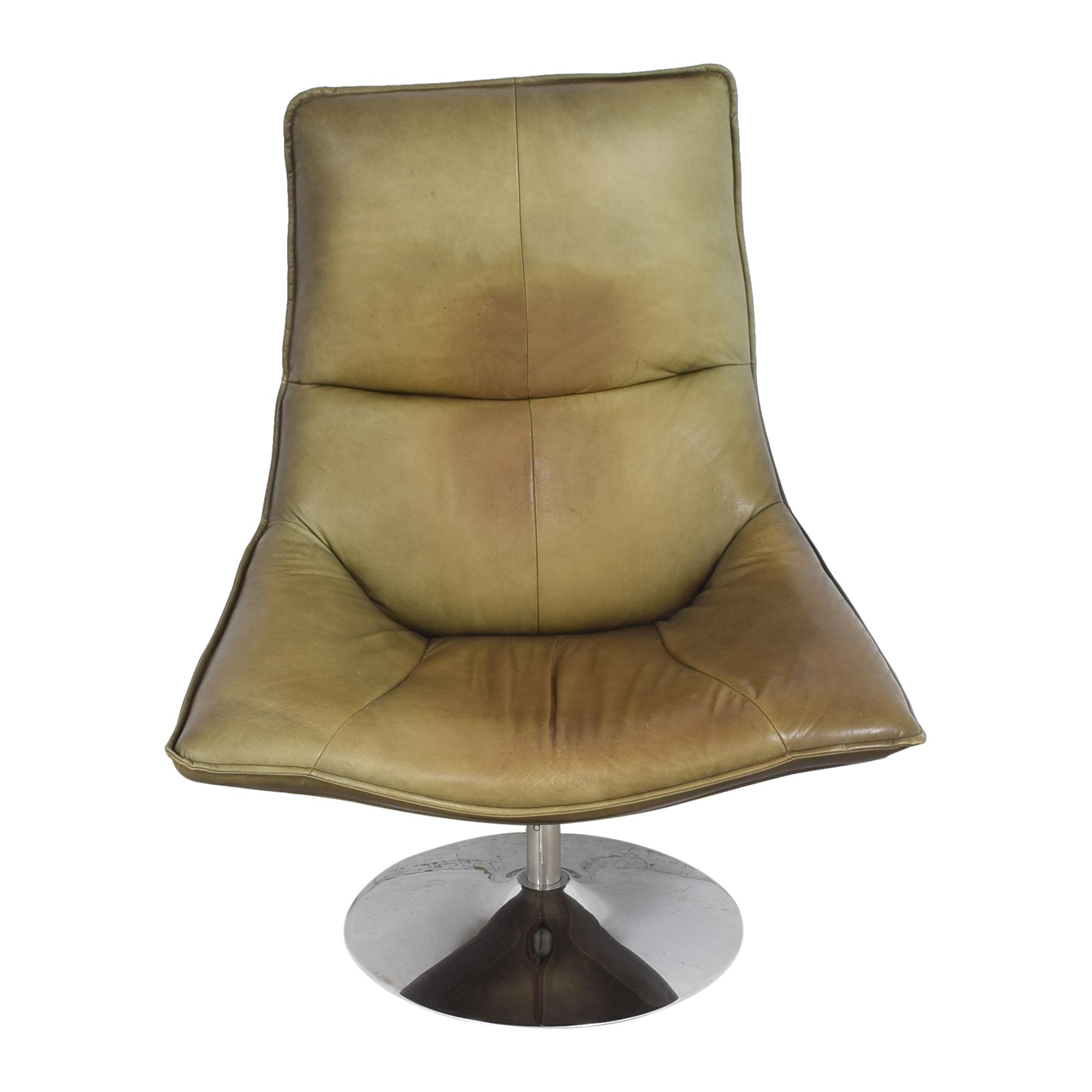 Restoration Hardware Restoration Hardware Hopper Swivel Bucket Chair for sale