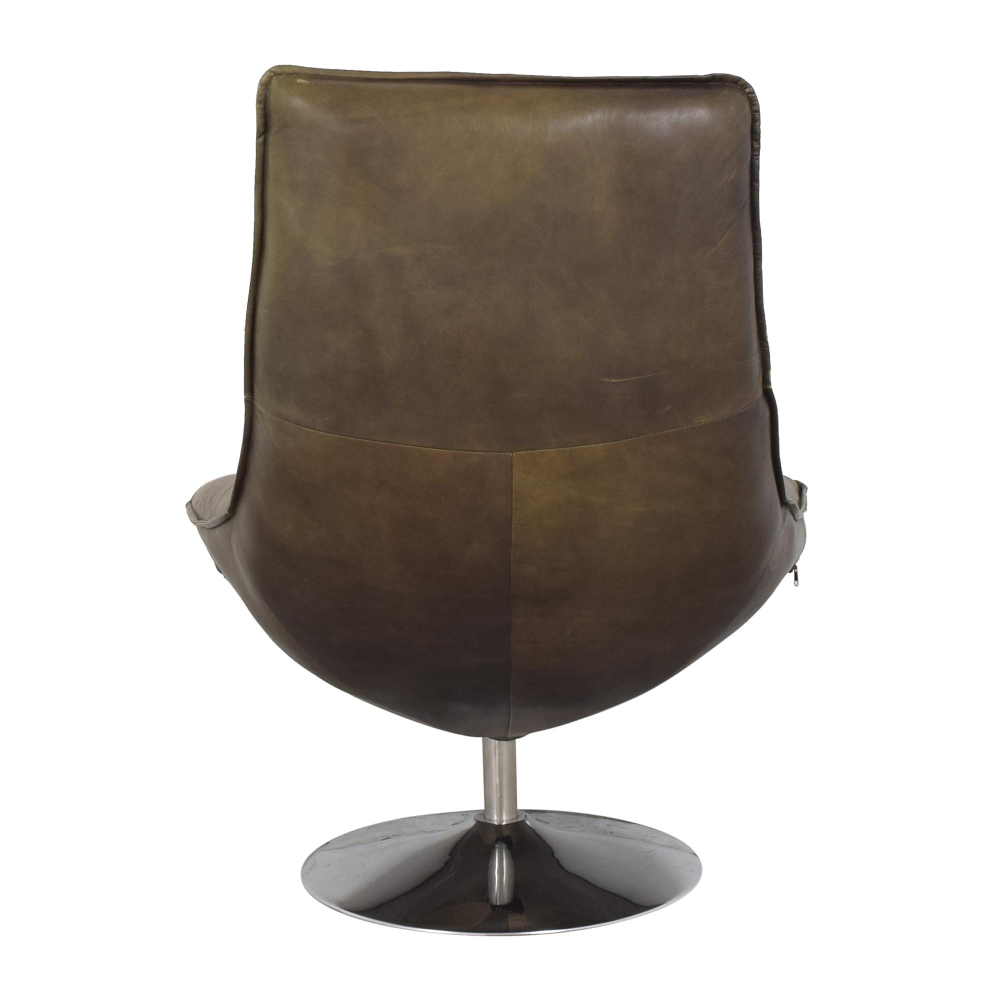 Restoration Hardware Restoration Hardware Hopper Swivel Bucket Chair pa